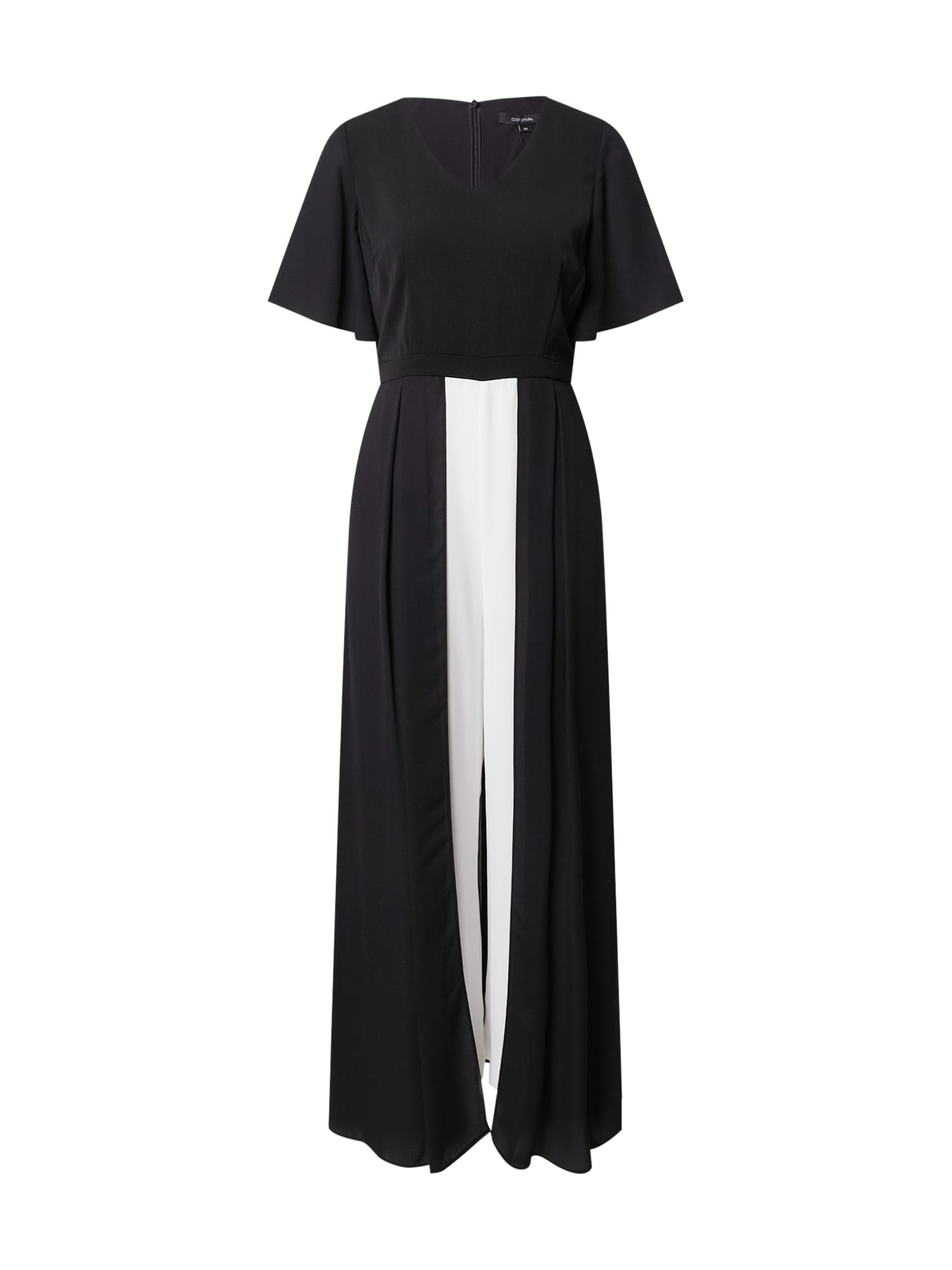 COMMA Kombinezono tipo kostiumas juoda / balta