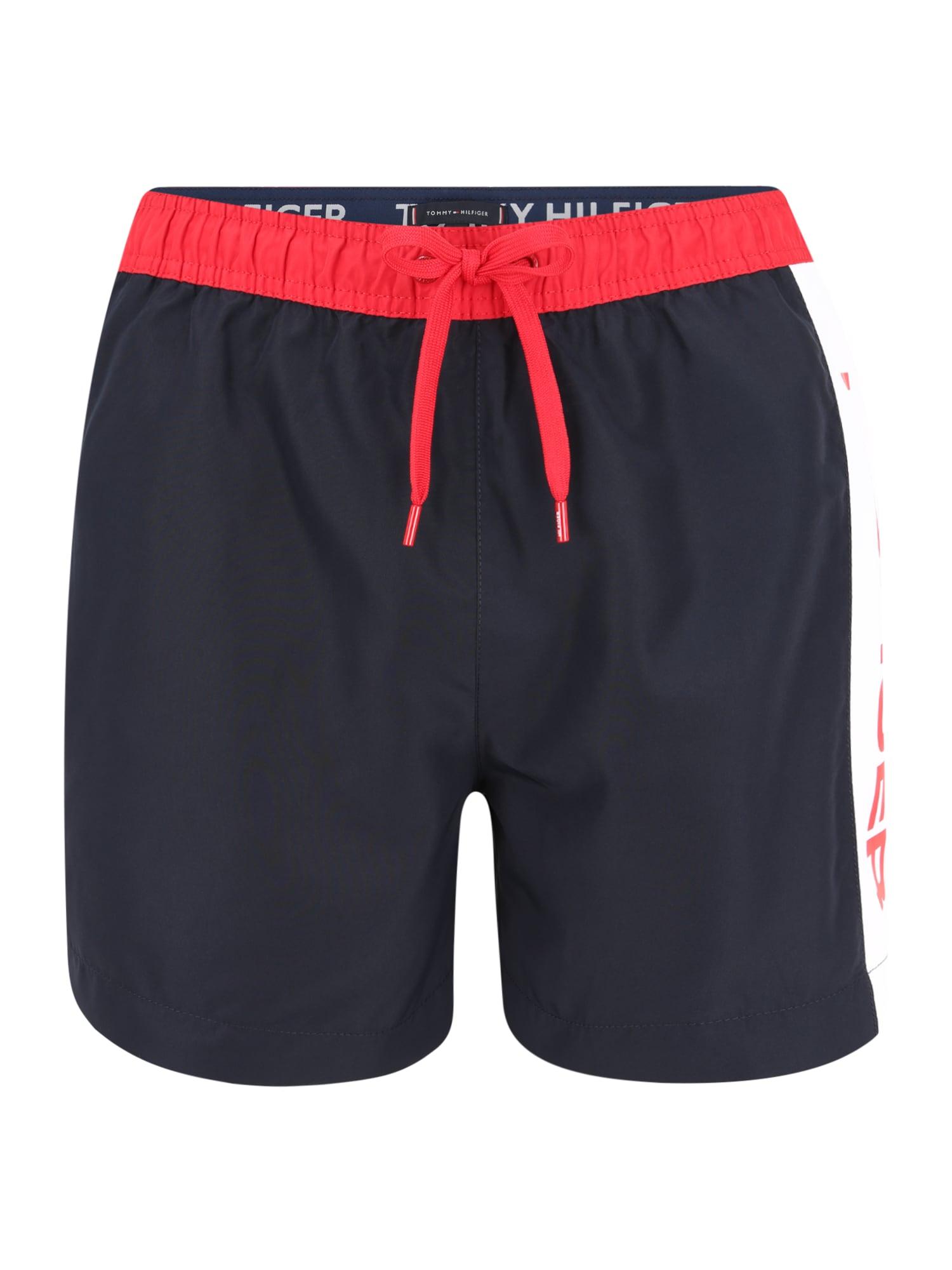 Tommy Hilfiger Underwear Maudymosi trumpikės tamsiai mėlyna / granatų spalva / balta