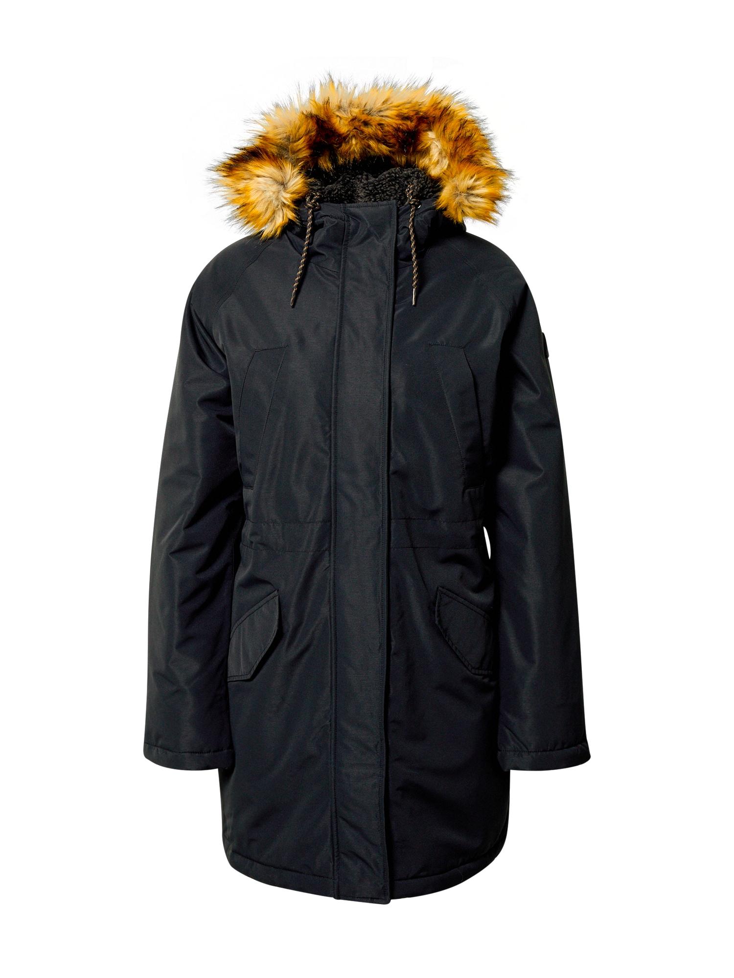 BILLABONG Zimní kabát  černá