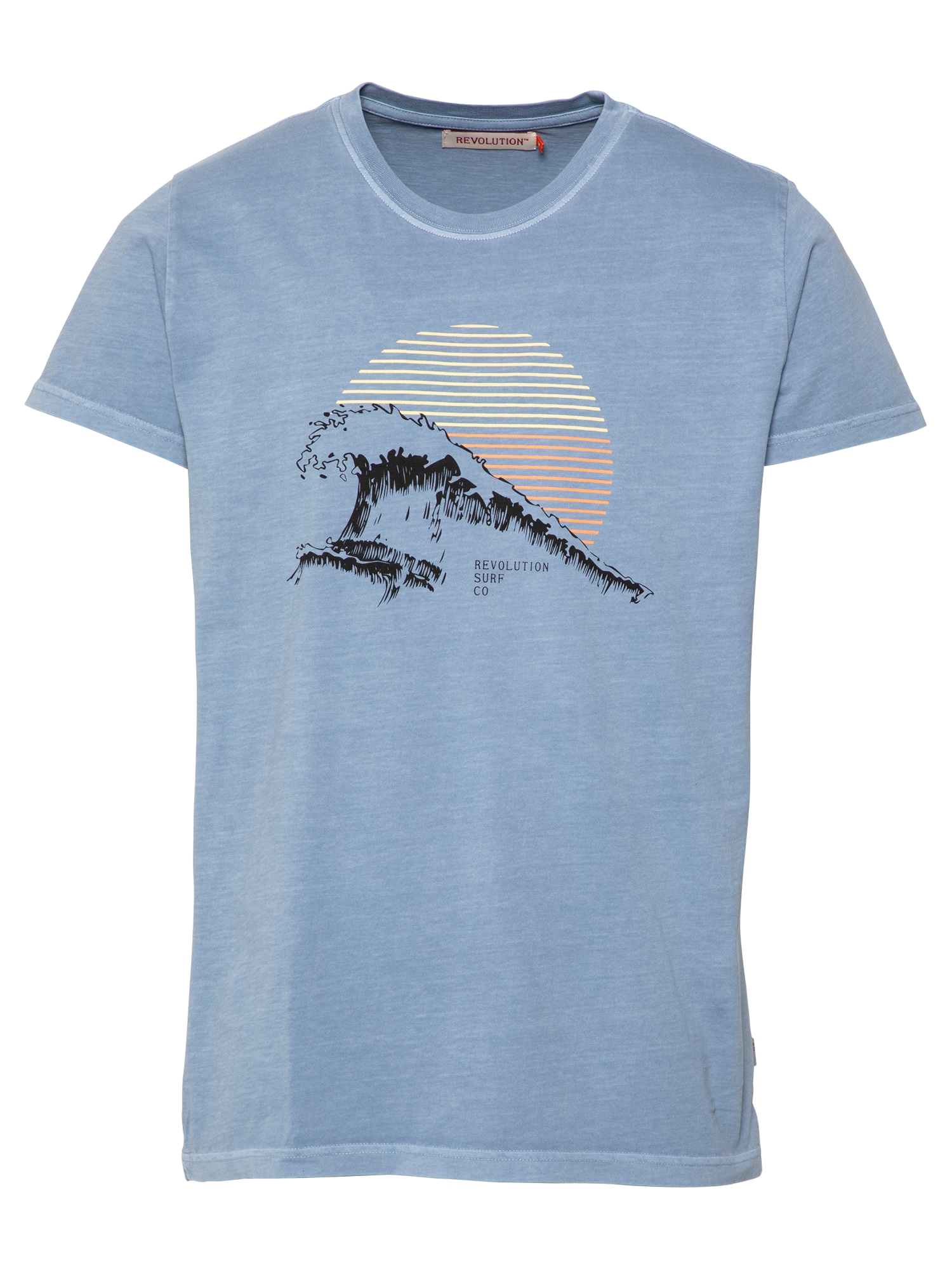 Revolution Marškinėliai mėlyna