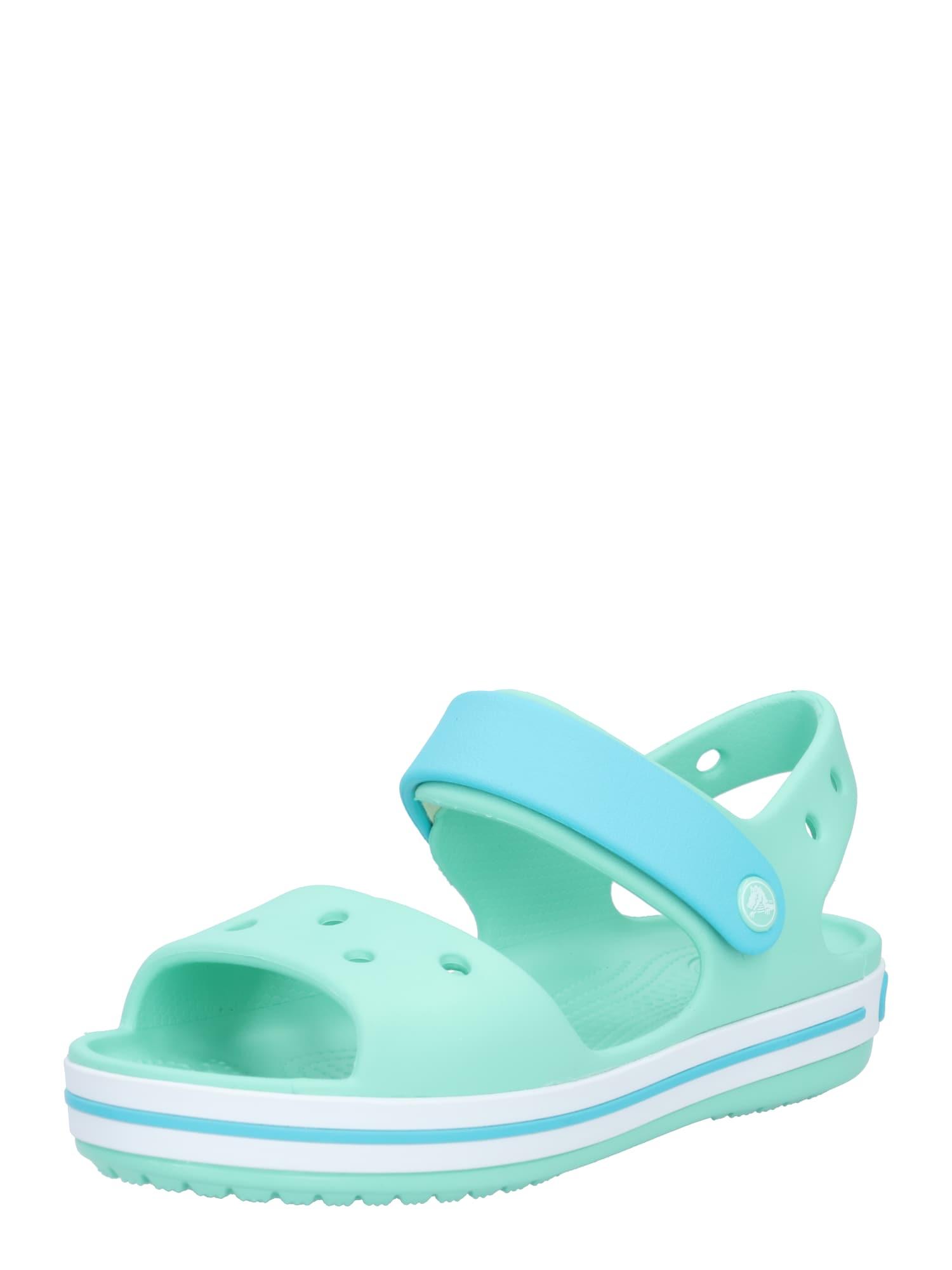 Crocs Atviri batai mėtų spalva / šviesiai mėlyna
