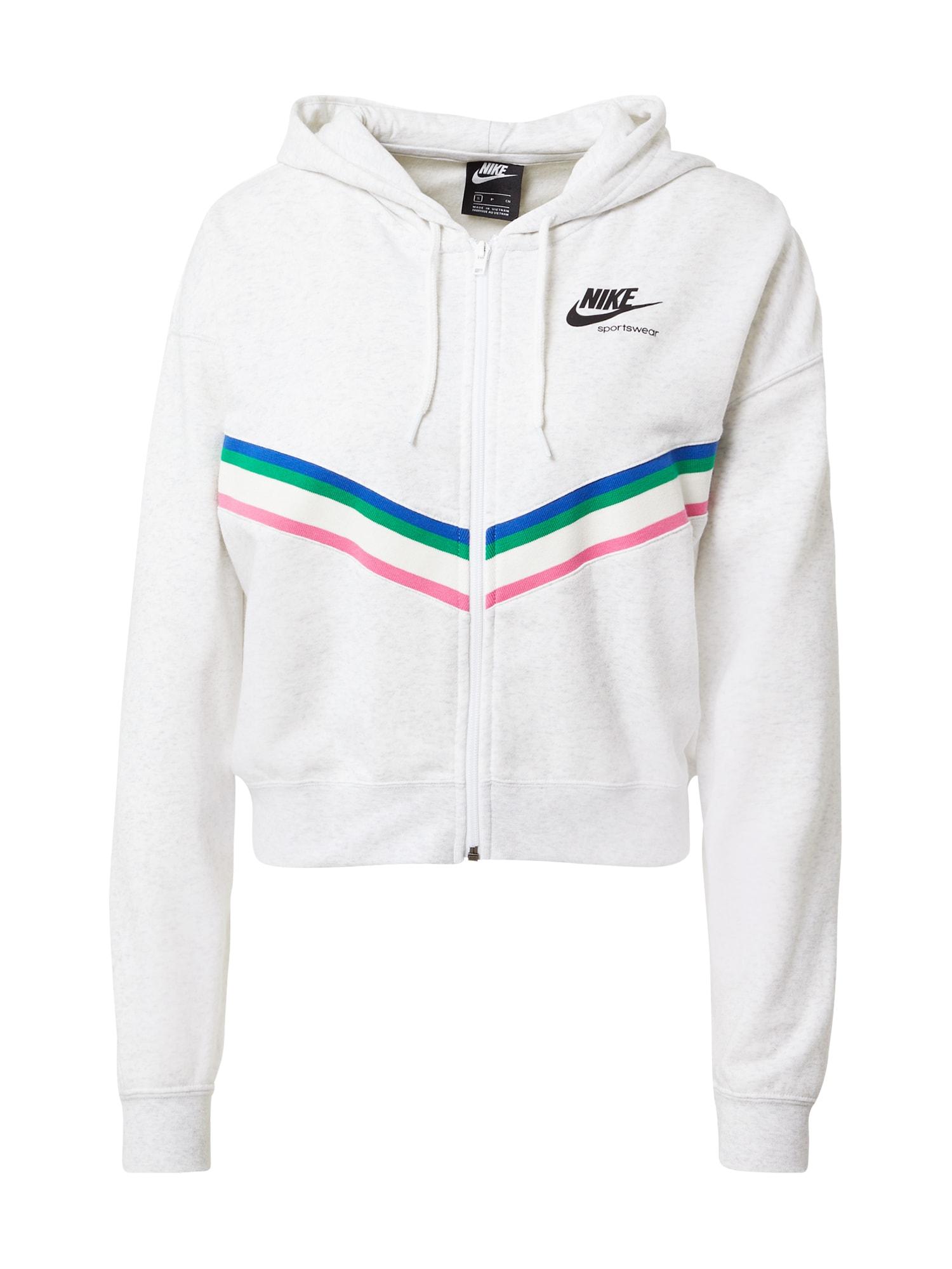Nike Sportswear Džemperis mišrios spalvos / balta
