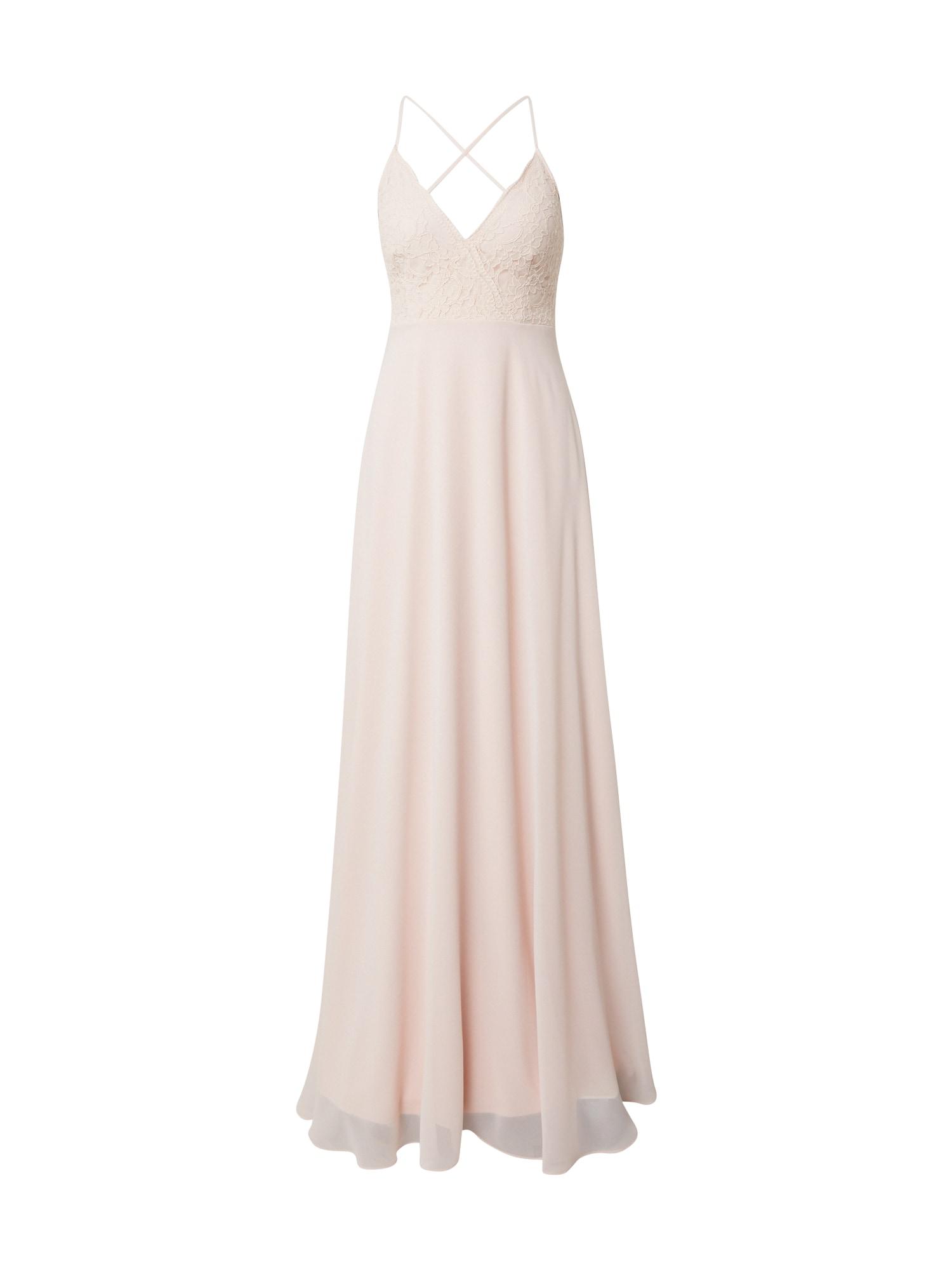 STAR NIGHT Vakarinė suknelė šviesiai rožinė