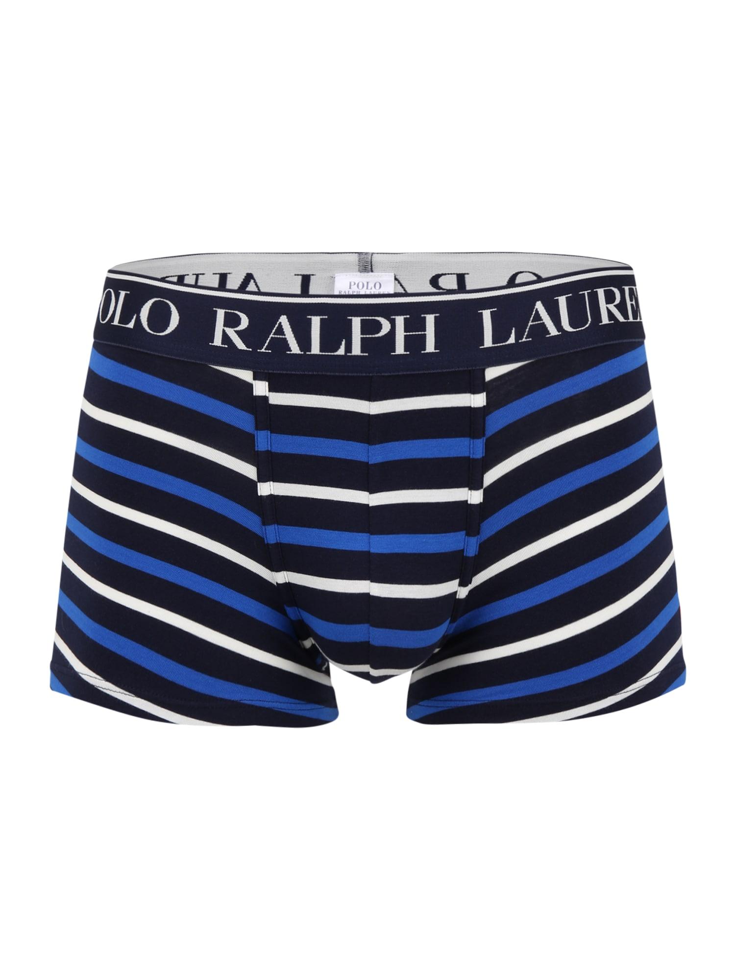 POLO RALPH LAUREN Boxer trumpikės mėlyna / kobalto mėlyna / balta