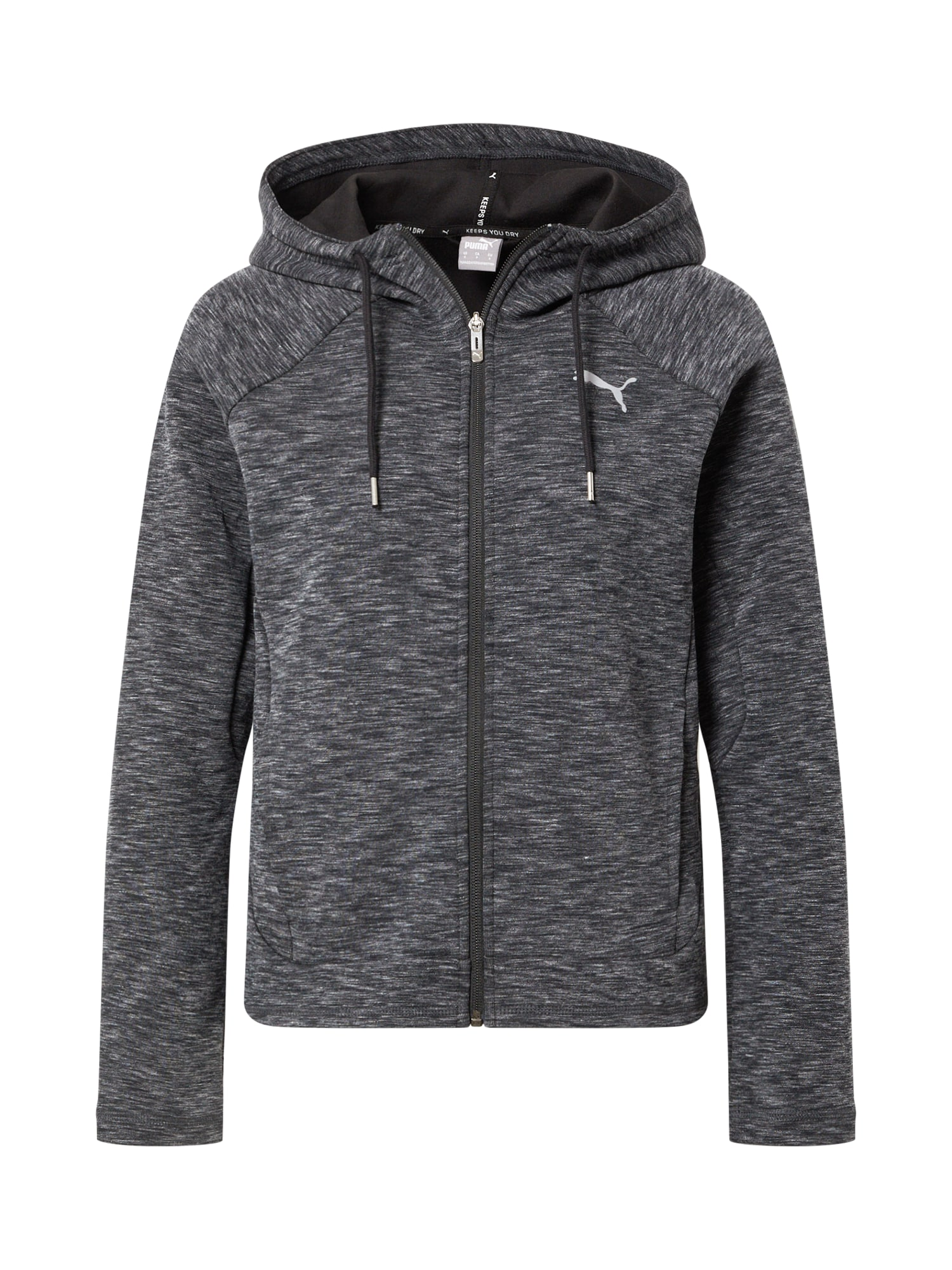 PUMA Džemperis margai juoda