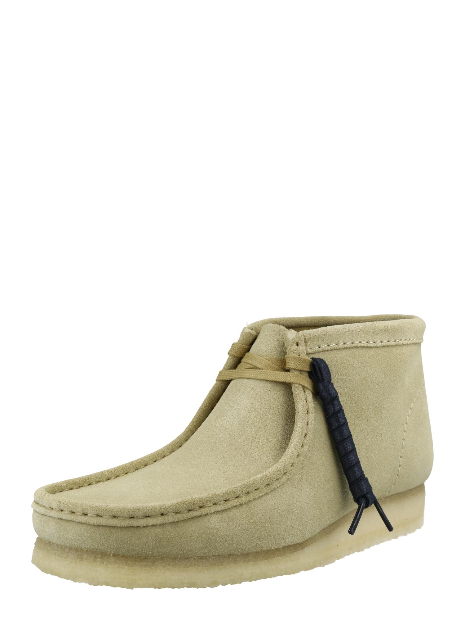 Clarks Originals Kotníkové boty 'Wallabee'  béžová