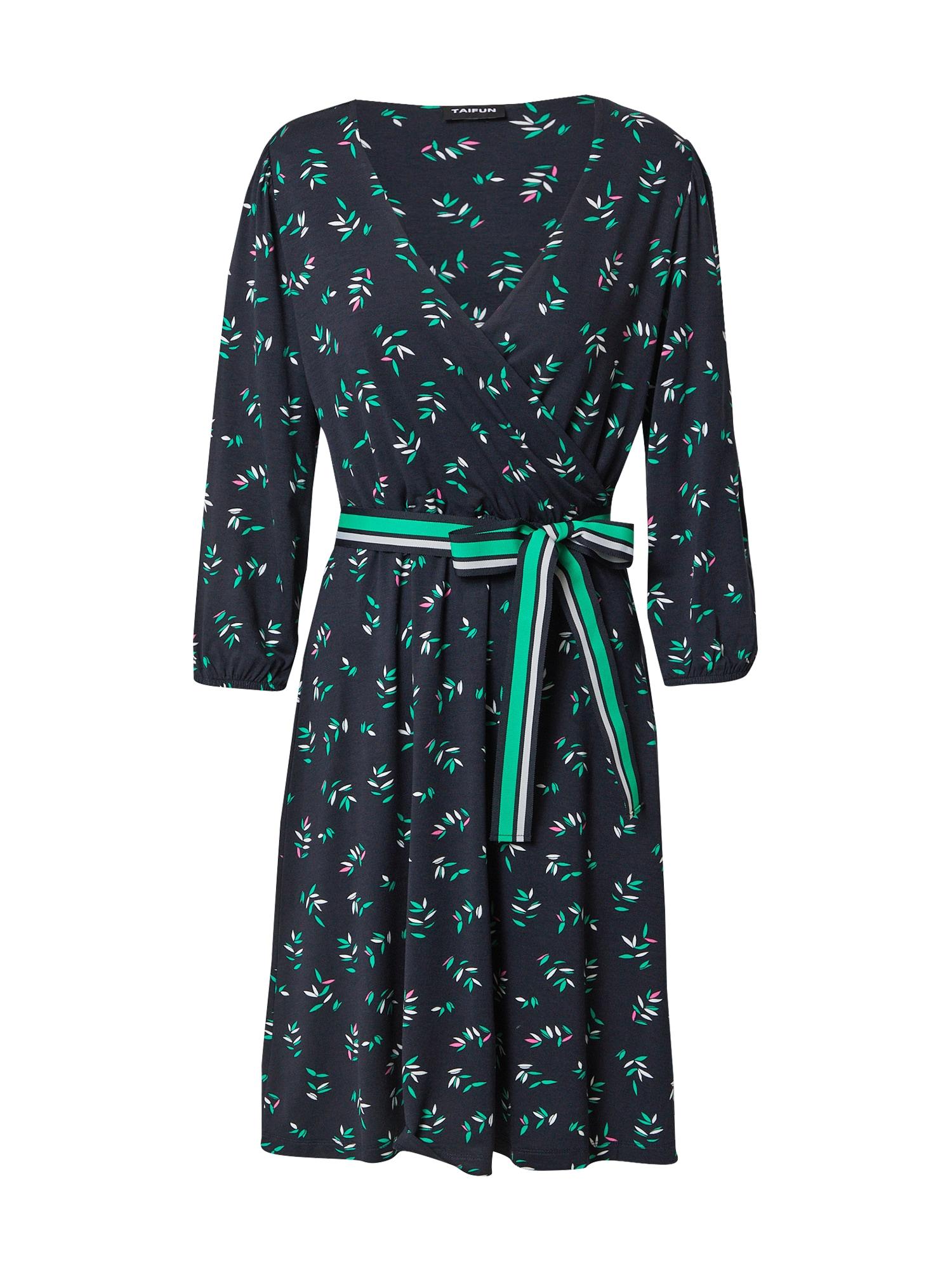 TAIFUN Suknelė mišrios spalvos / tamsiai mėlyna
