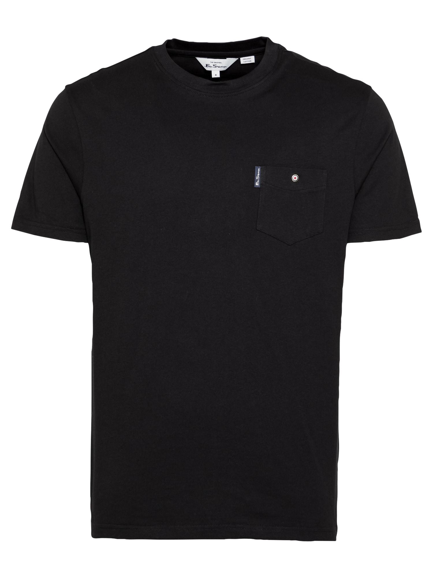 Ben Sherman Marškinėliai juoda