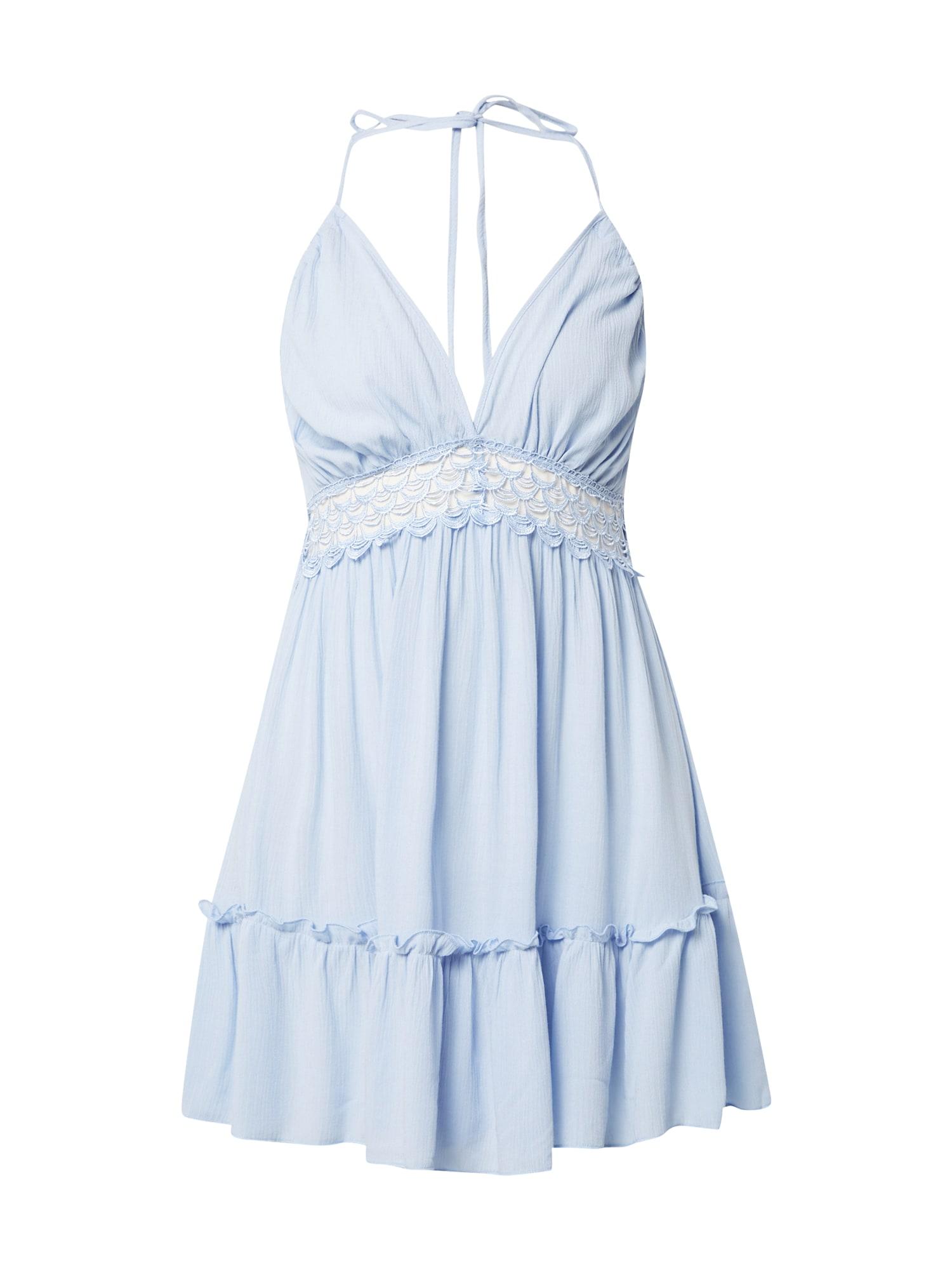 Trendyol Kokteilinė suknelė mėlyna