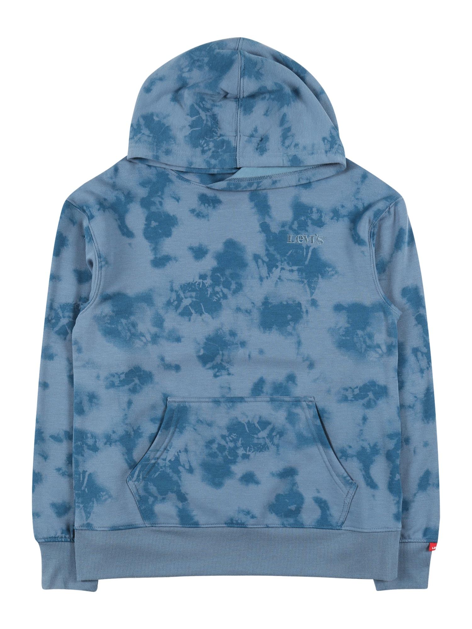 LEVI'S Mikina  chladná modrá / kouřově modrá