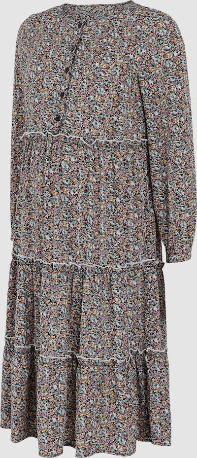 Mama.Licious Park Langärmeliges, gewebtes Kleid mit Rüschen und Blumenmotiv