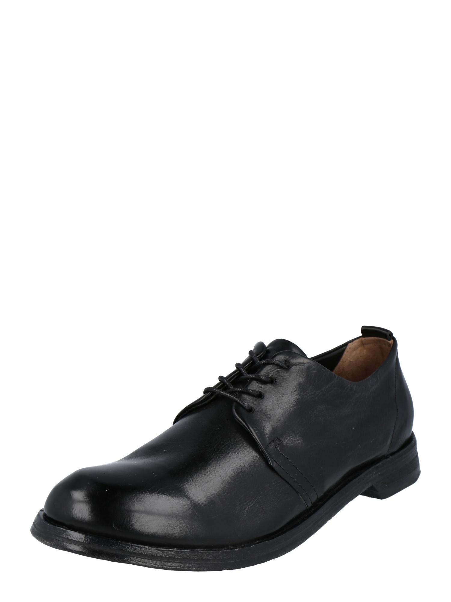 A.S.98 Šněrovací boty 'Zukko'  černá
