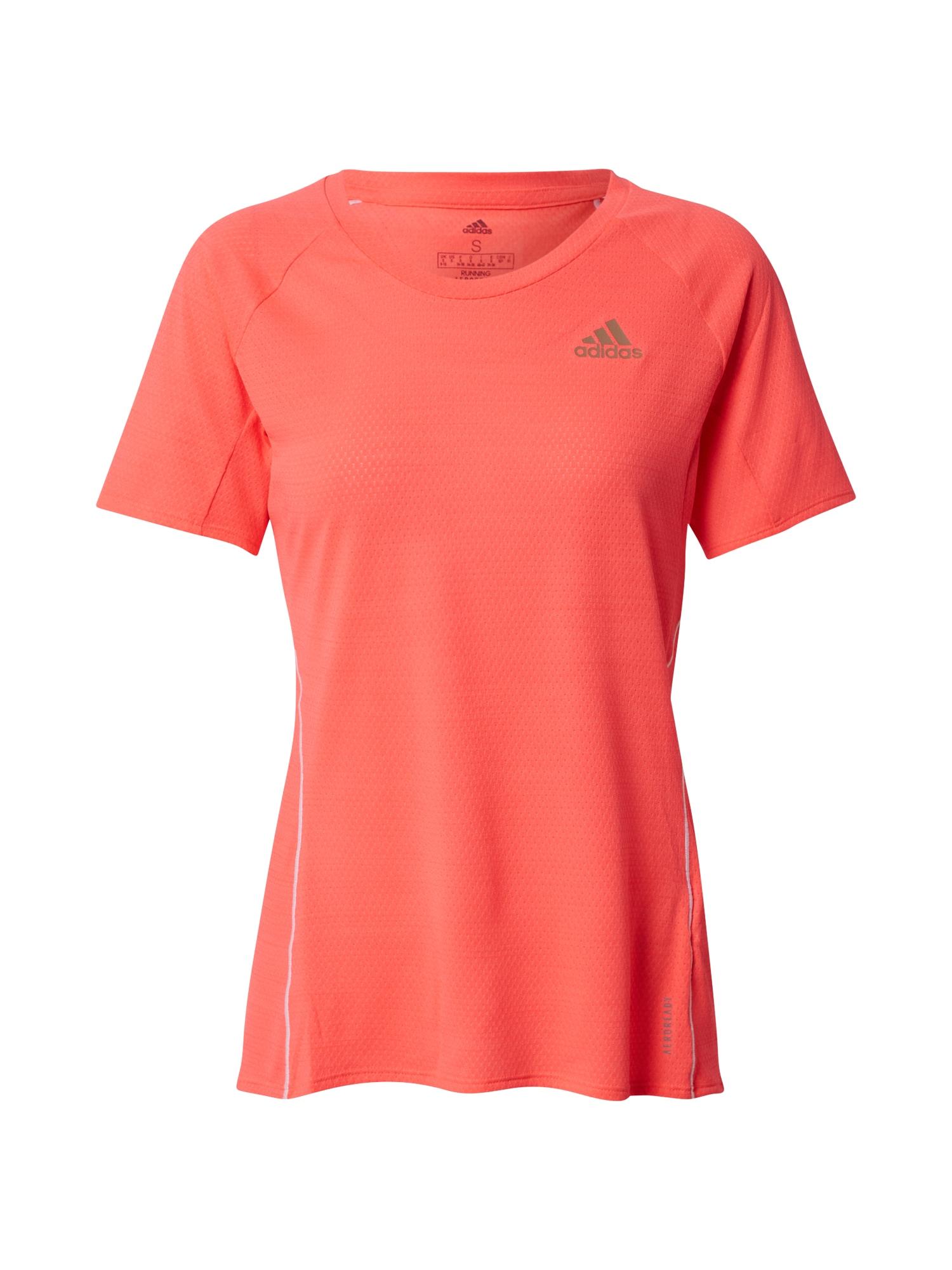 ADIDAS PERFORMANCE Funkční tričko 'Runner'  tmavě růžová