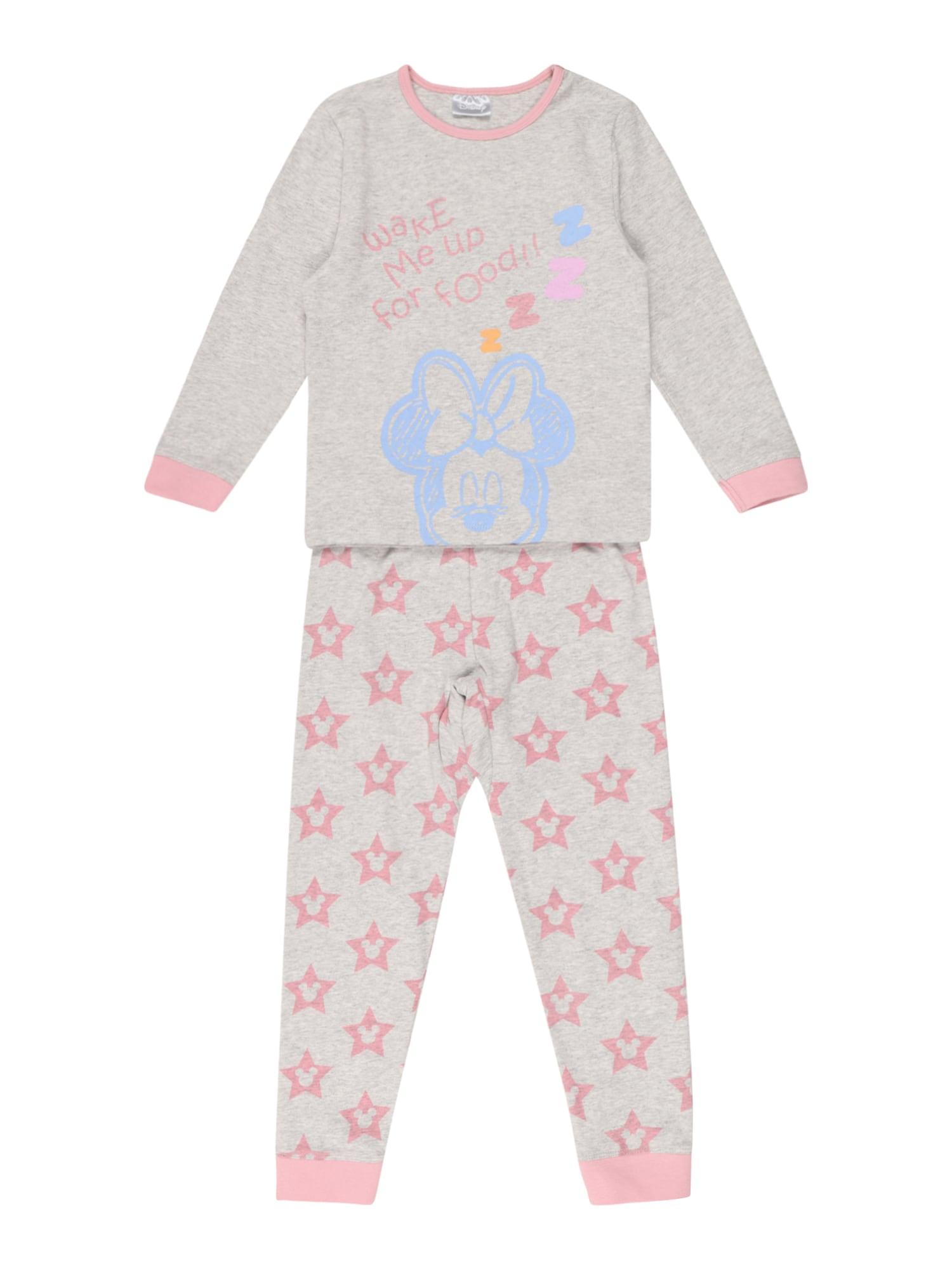 Cotton On Miego kostiumas 'FLORENCE' margai pilka / rožių spalva / šviesiai mėlyna / šviesiai oranžinė