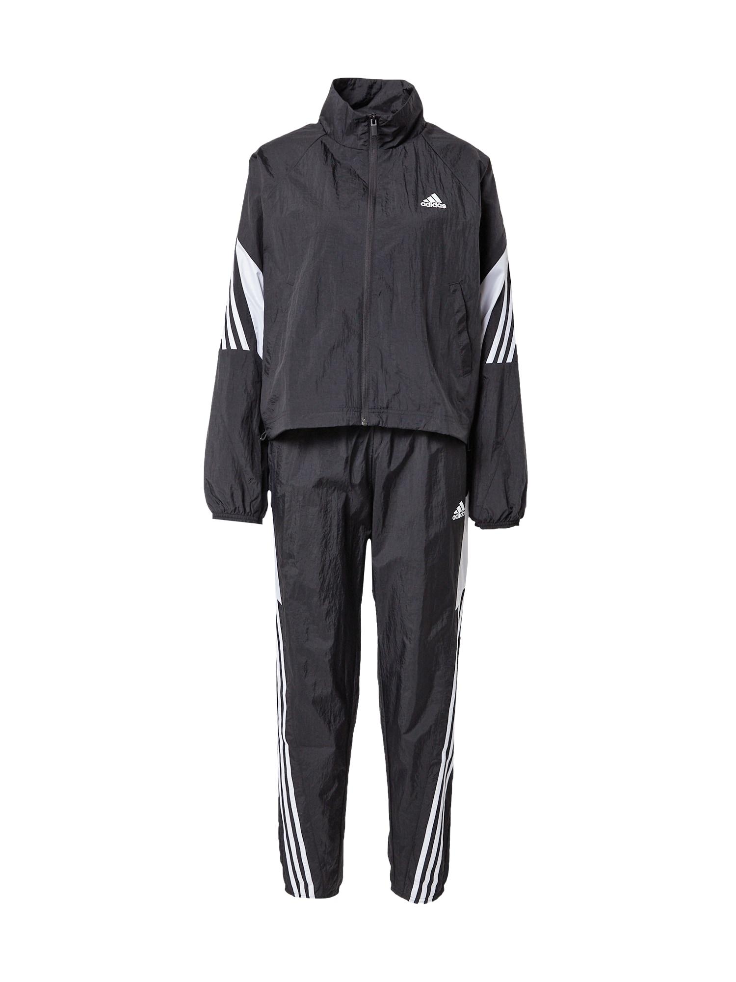 ADIDAS PERFORMANCE Sportinis kostiumas 'GAMETI' juoda / balta