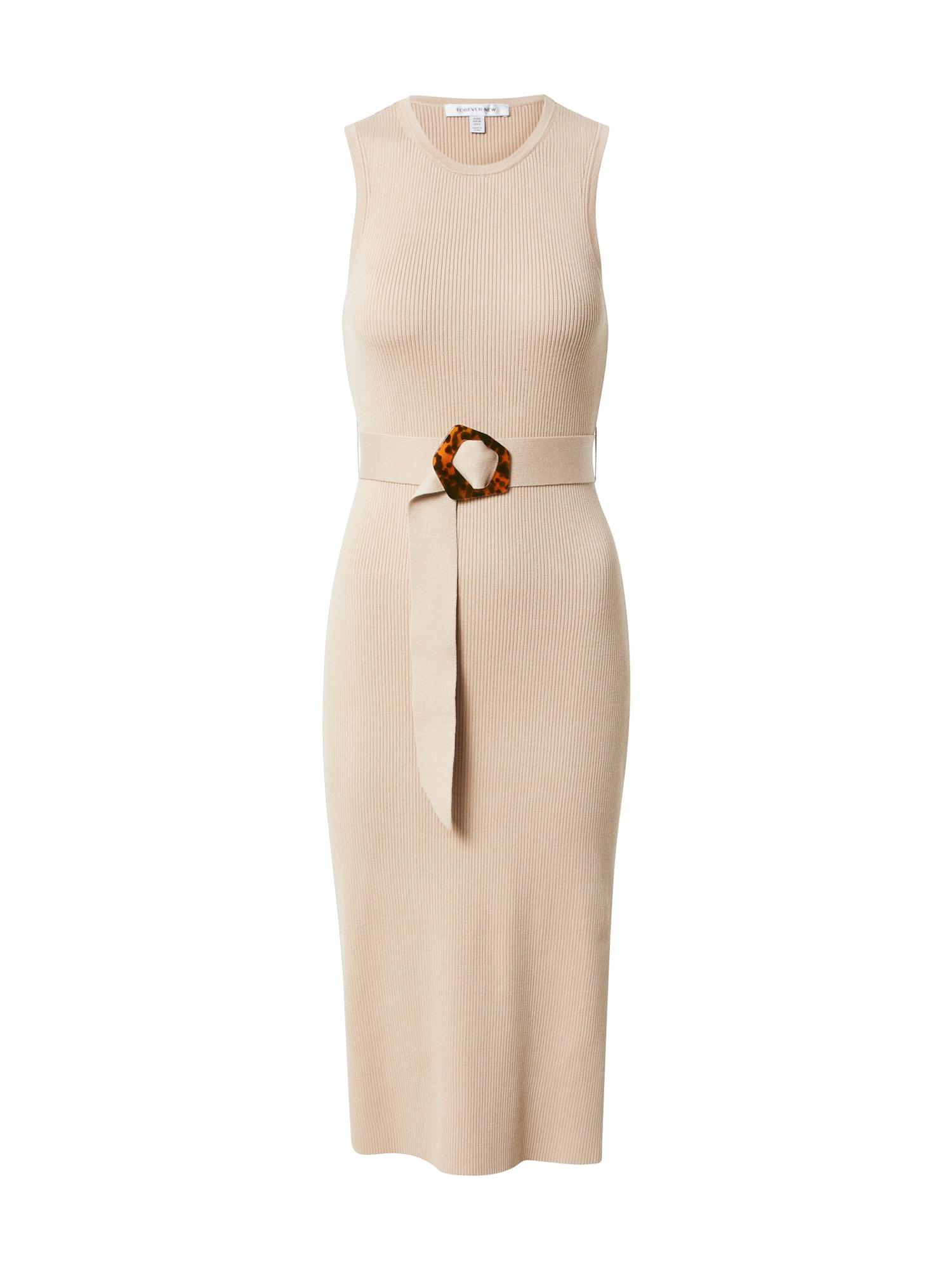 Forever New Úpletové šaty 'IMOGEN'  béžová