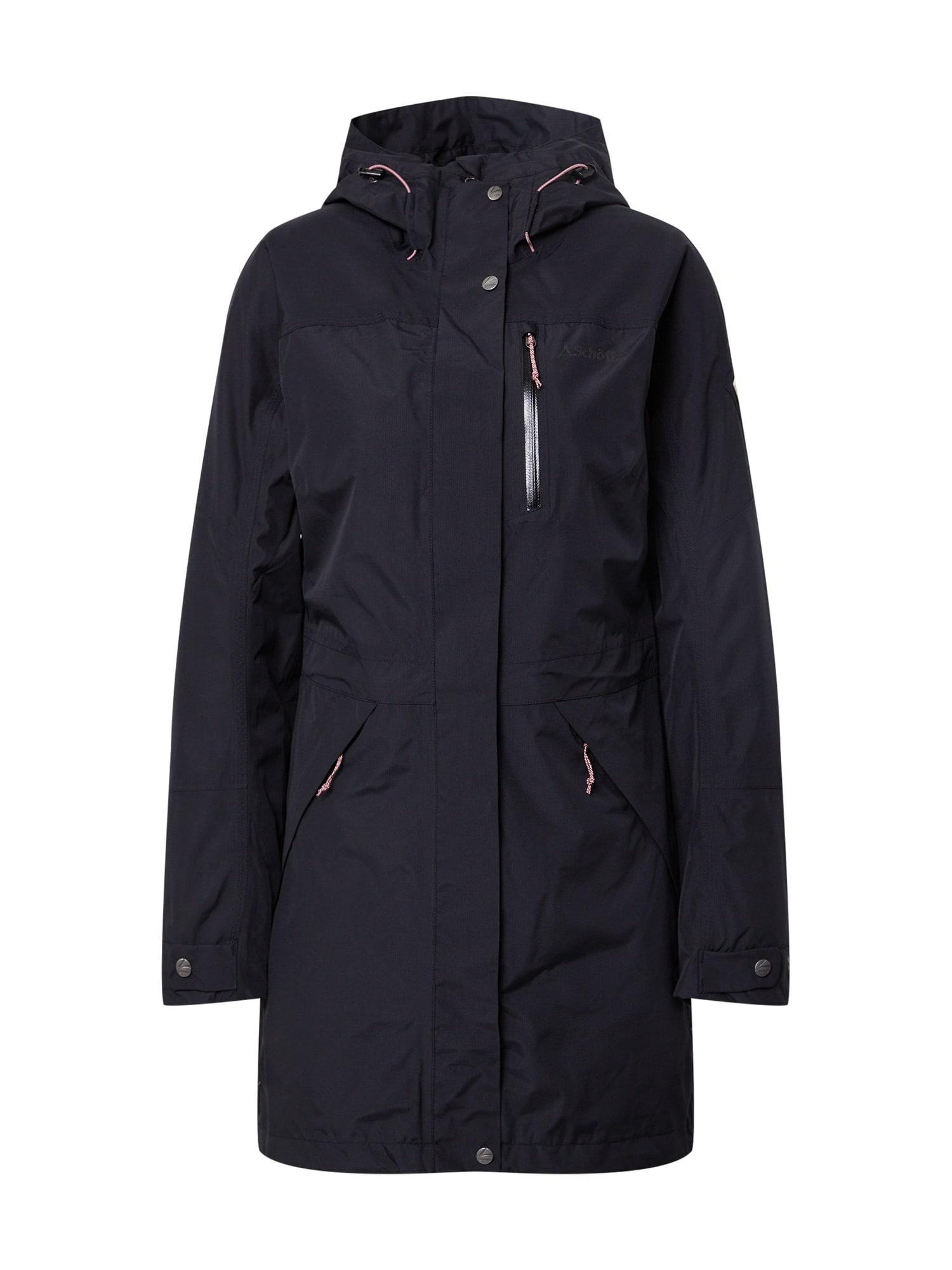Schöffel Laisvalaikio paltas juoda