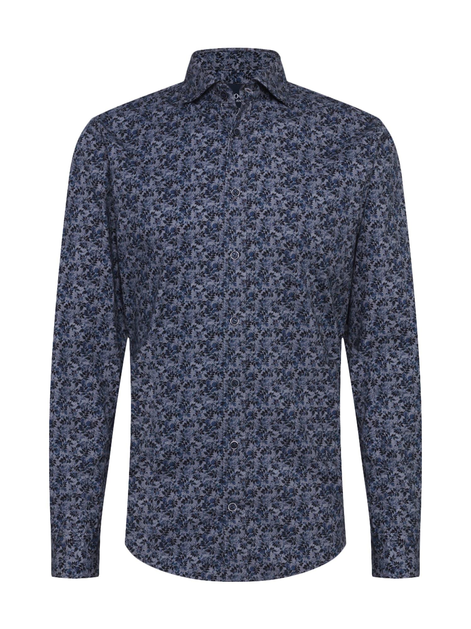 JOOP! Jeans Košile  modrá / antracitová