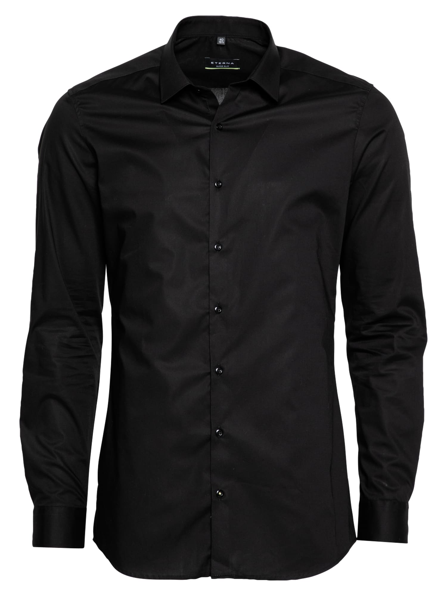 ETERNA Dalykinio stiliaus marškiniai juoda