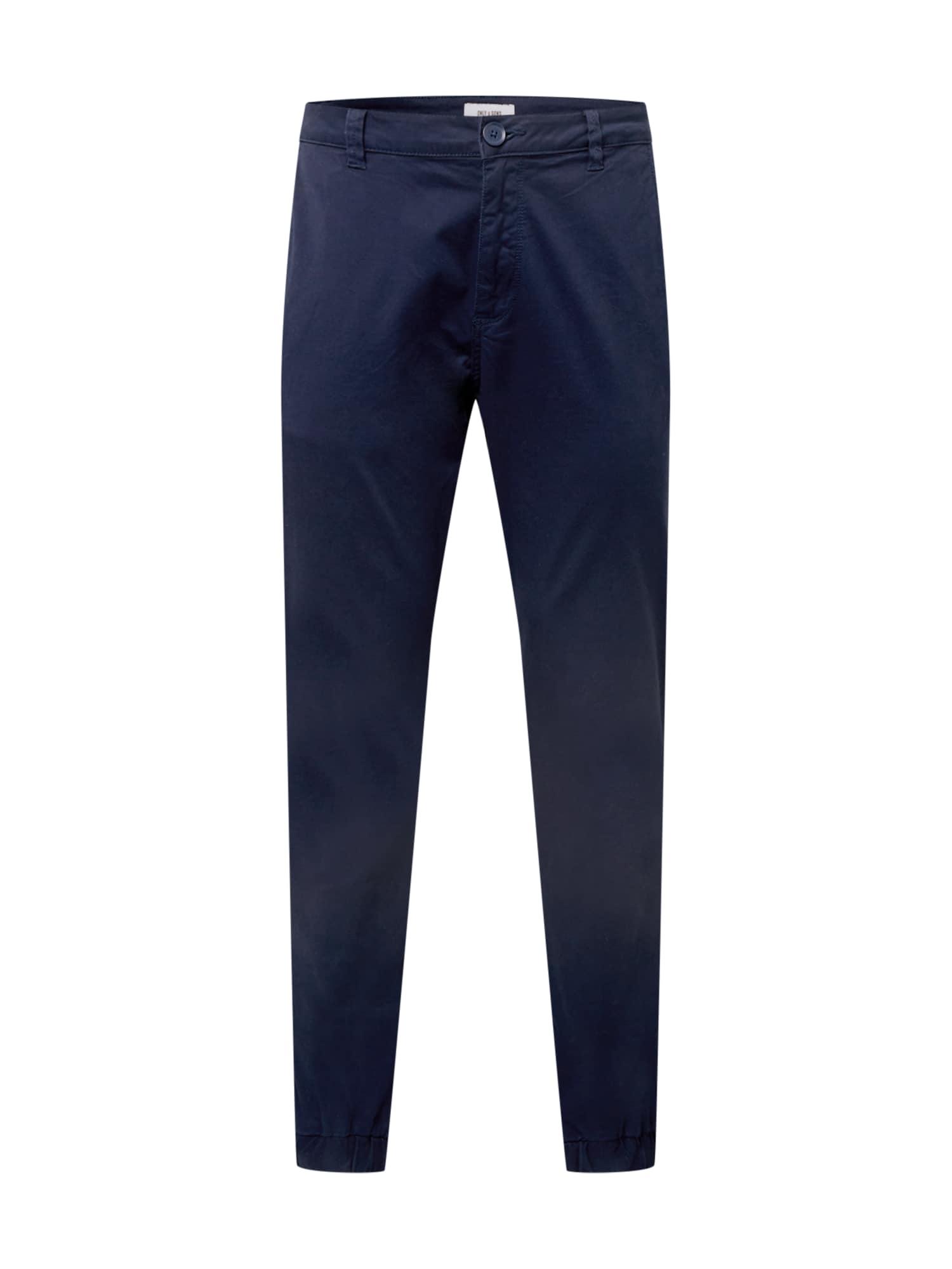 Only & Sons Chino kalhoty 'CAM'  námořnická modř