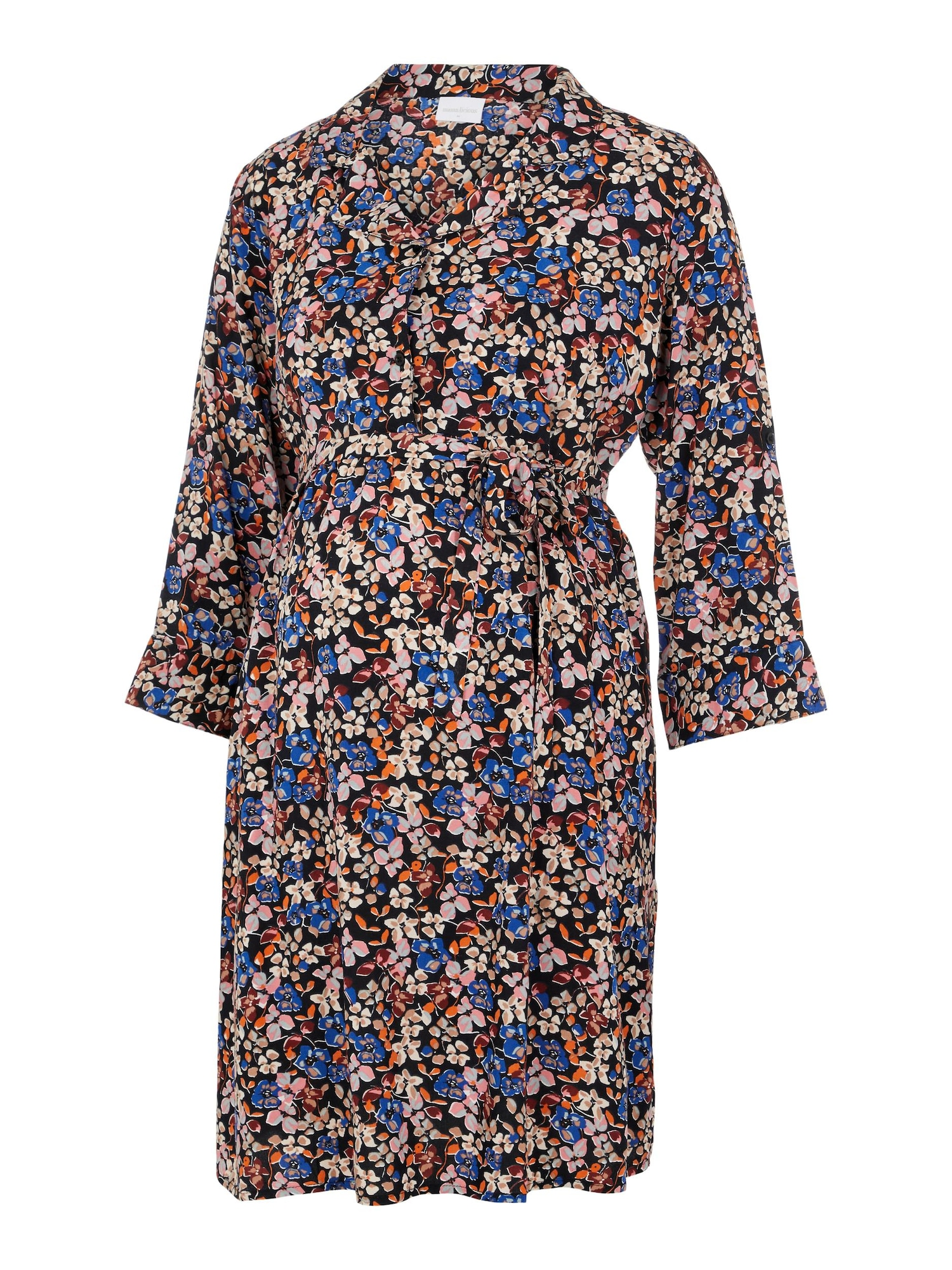 MAMALICIOUS Palaidinės tipo suknelė 'Levetta' mišrios spalvos / juoda