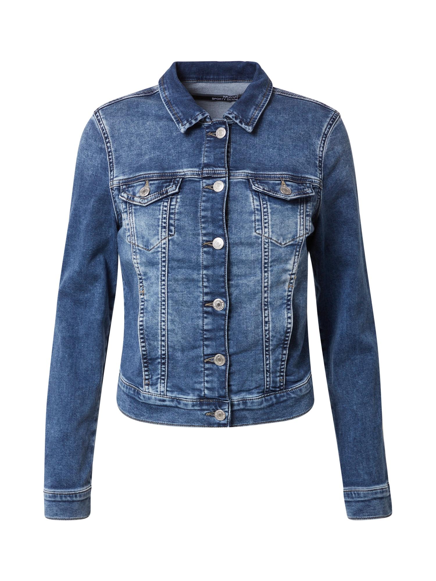 Mavi Demisezoninė striukė 'Charlize' tamsiai (džinso) mėlyna