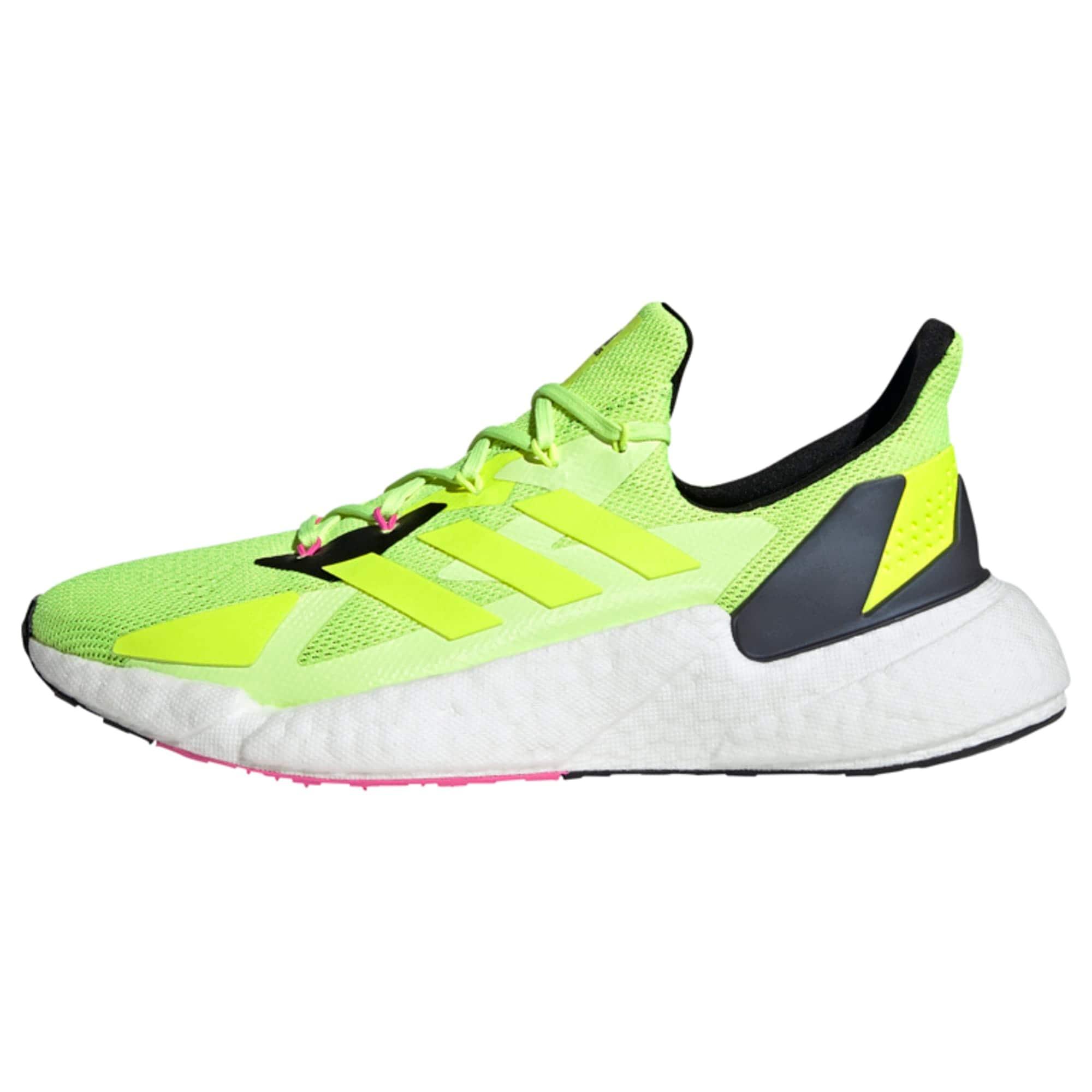 ADIDAS PERFORMANCE Bėgimo batai neoninė geltona / juoda