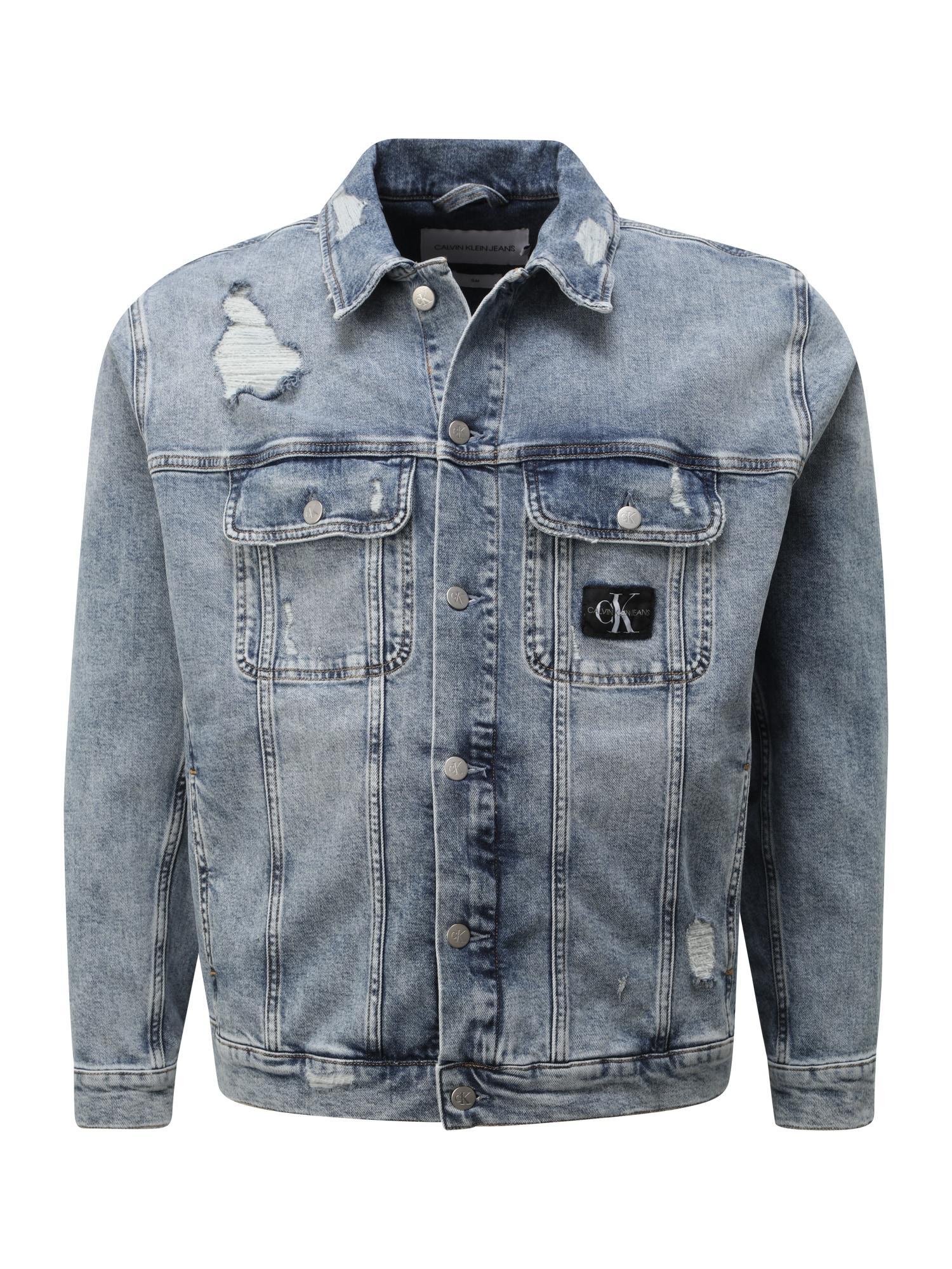 Calvin Klein Jeans Plus Demisezoninė striukė tamsiai (džinso) mėlyna