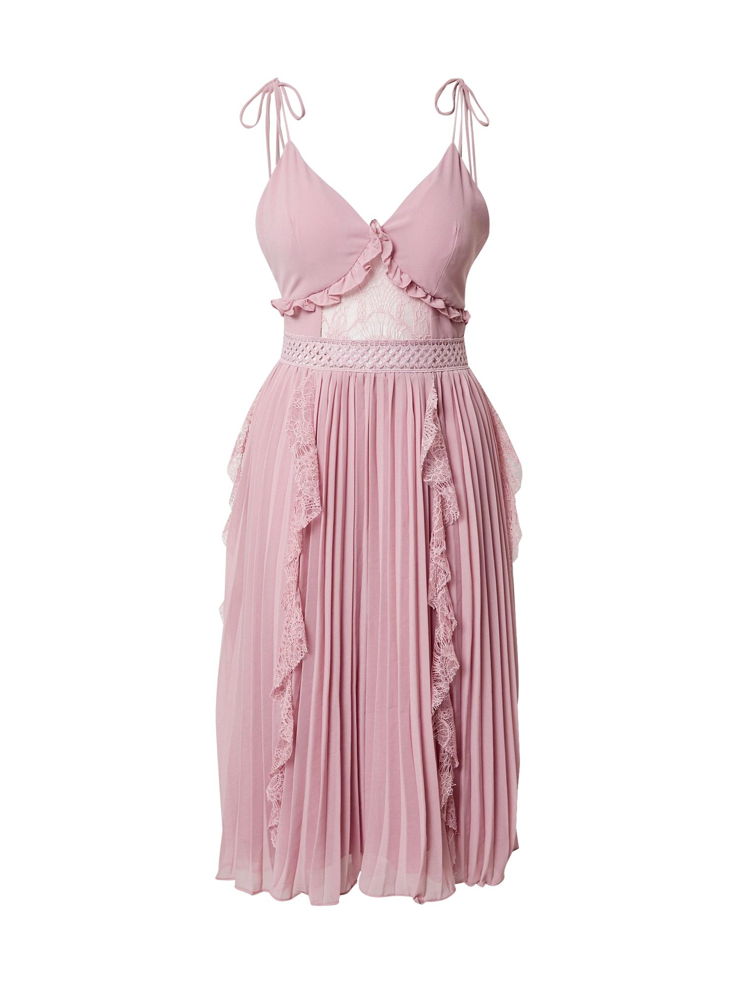 True Decadence Vakarinė suknelė rausvai violetinė spalva
