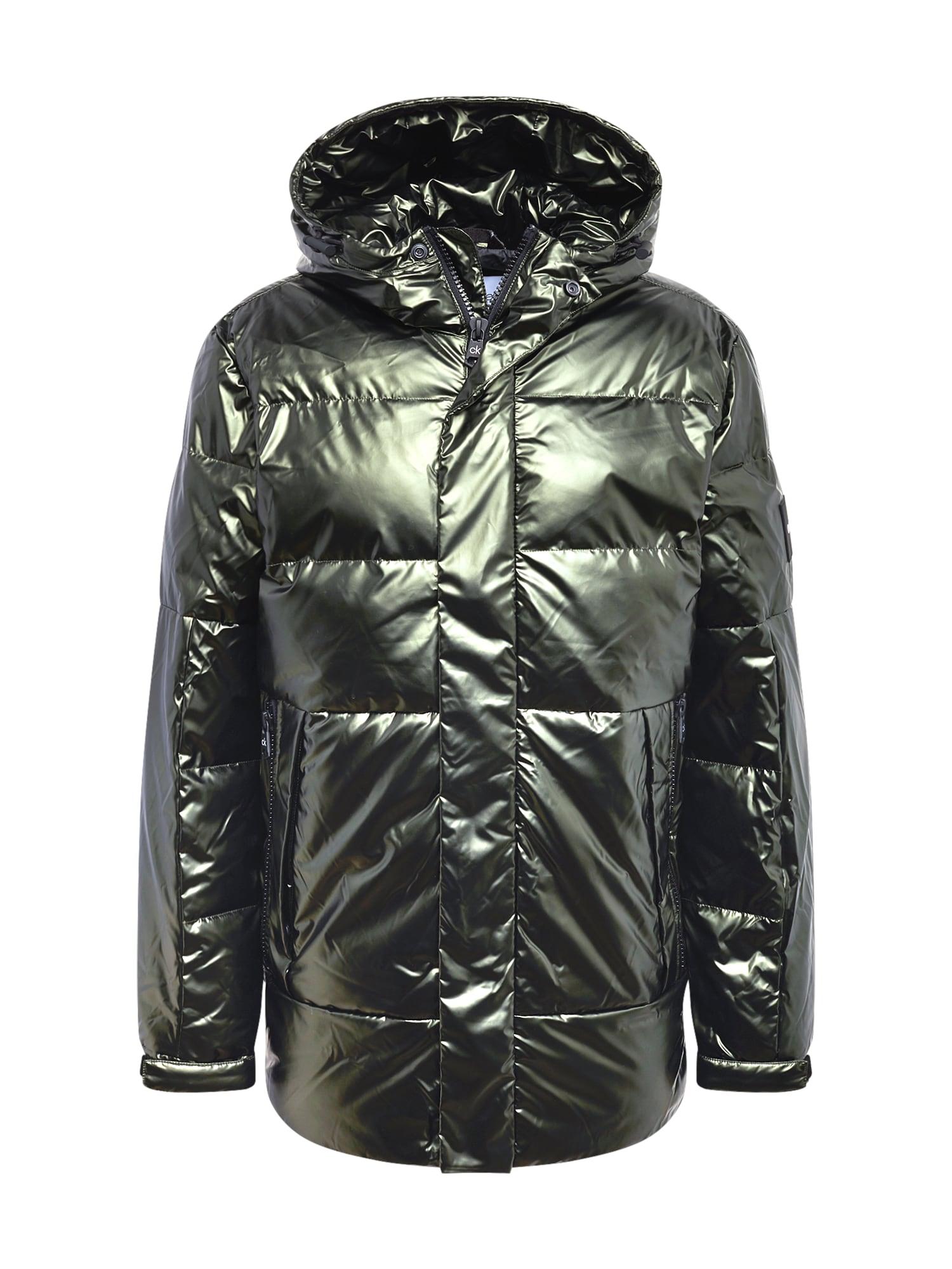 Calvin Klein Zimní bunda  zelená