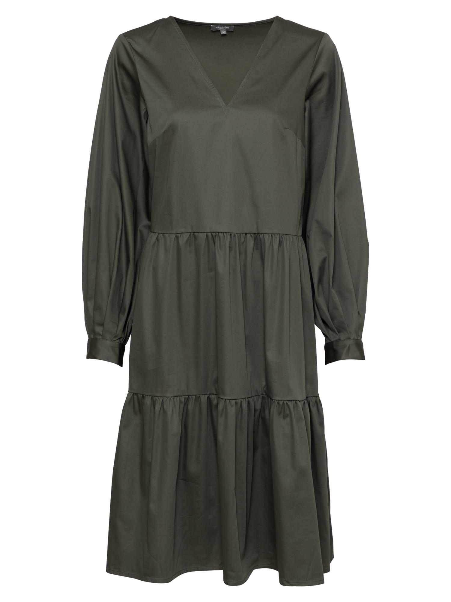 MINE TO FIVE Suknelė tamsiai žalia