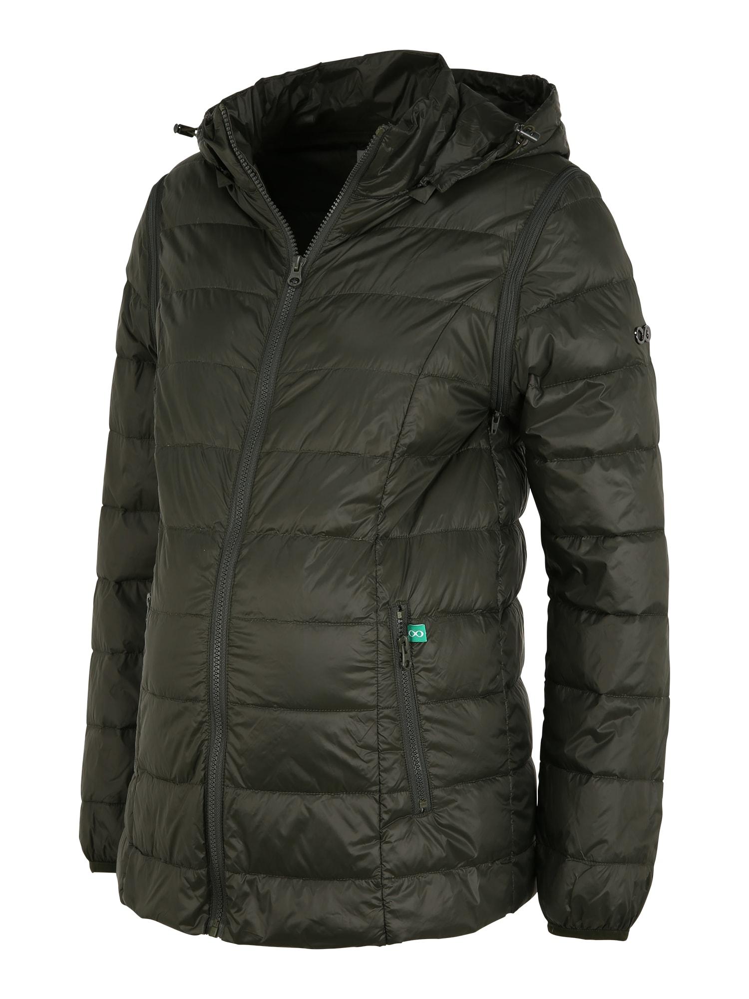 Modern Eternity Žieminis paltas 'Lola' rusvai žalia