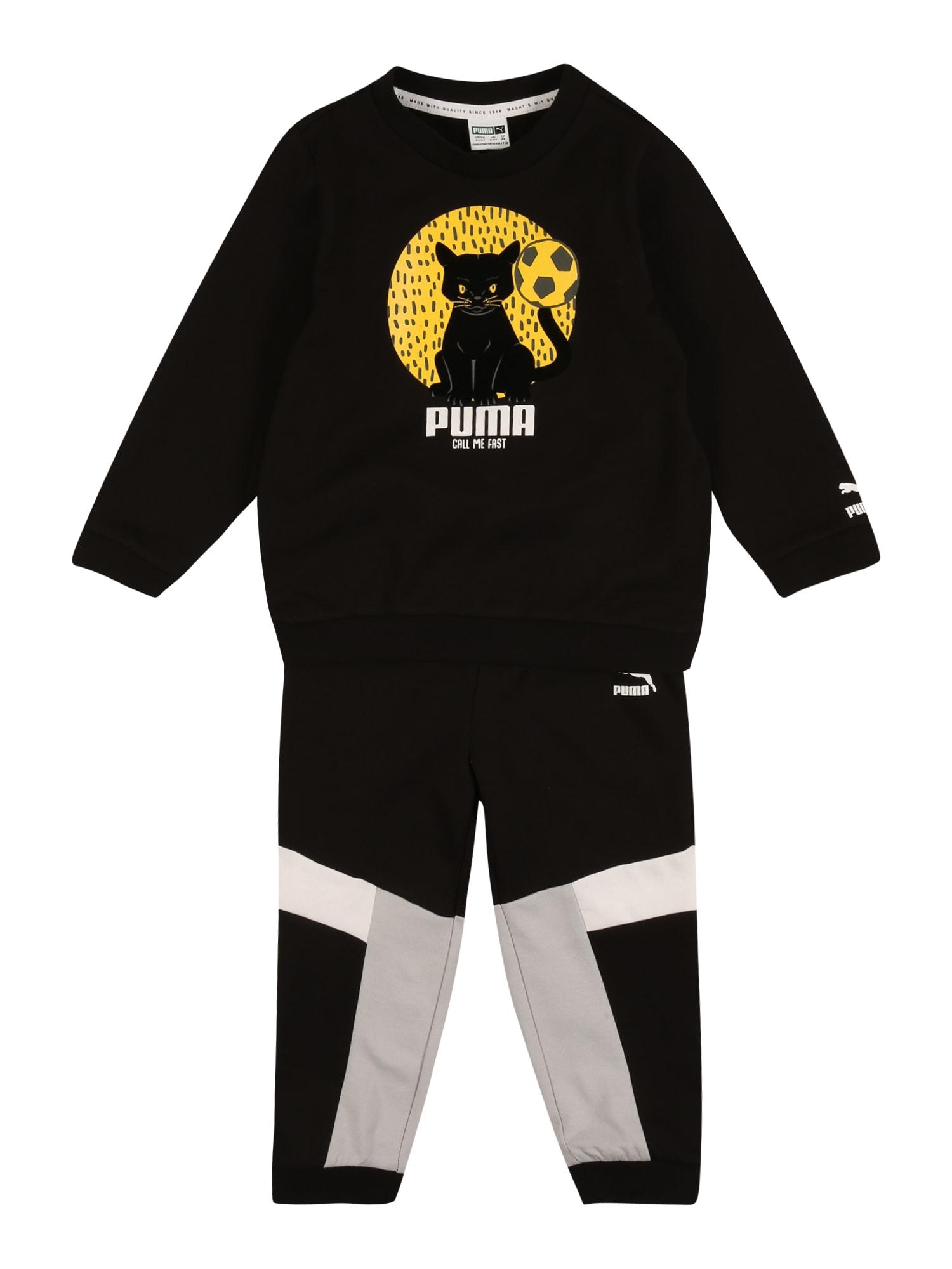 PUMA Sportinis kostiumas juoda