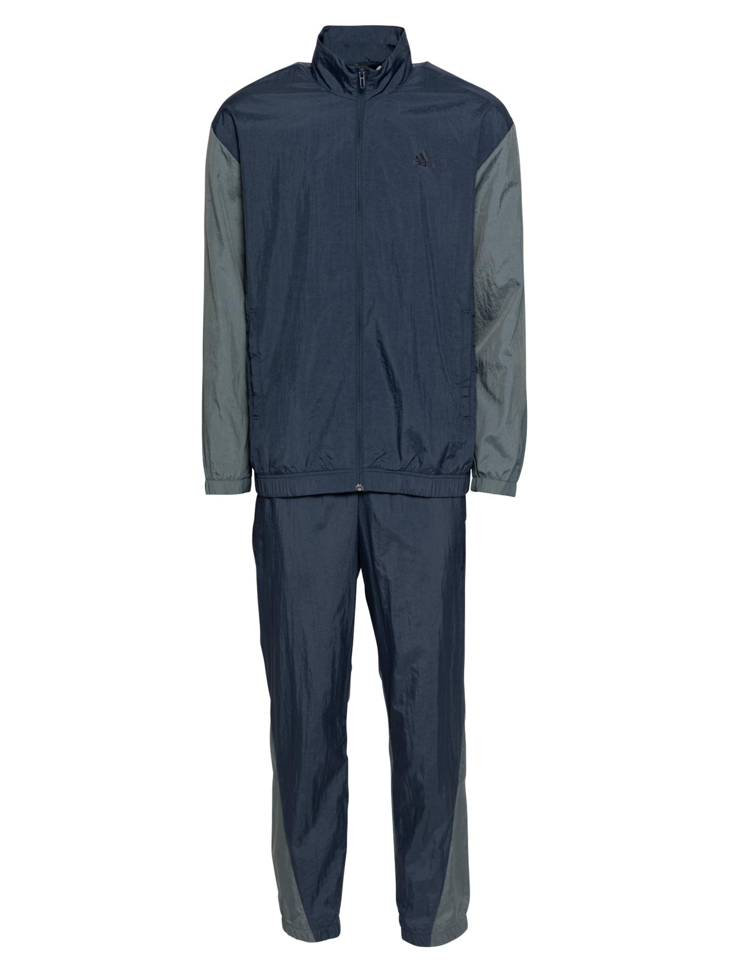 ADIDAS PERFORMANCE Treniruočių kostiumas tamsiai mėlyna / pastelinė žalia