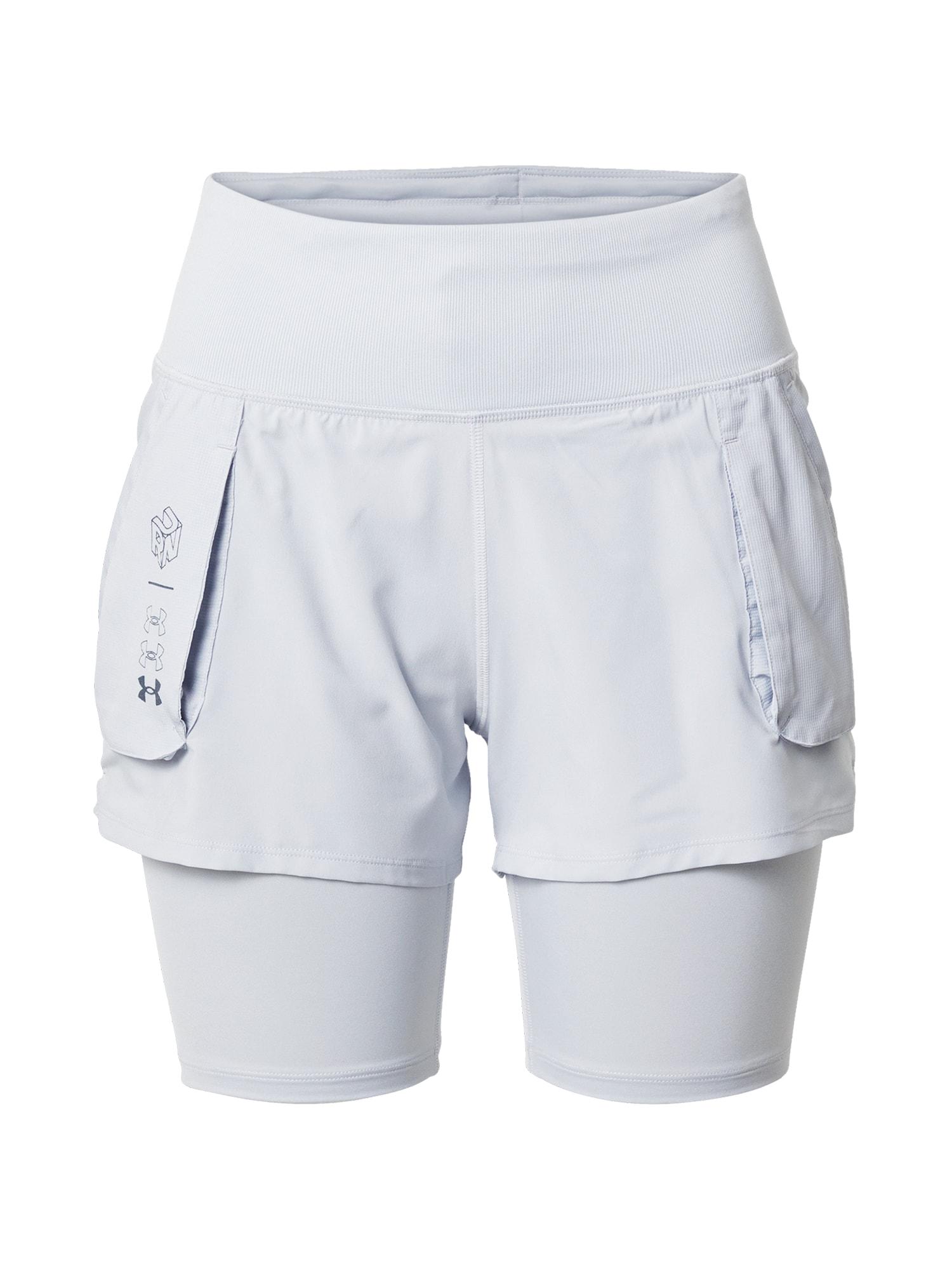 UNDER ARMOUR Sportovní kalhoty 'Run Anywhere 2in1'  šedá