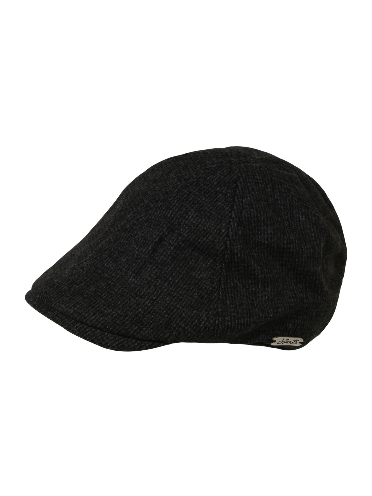 chillouts Megzta kepurė margai juoda