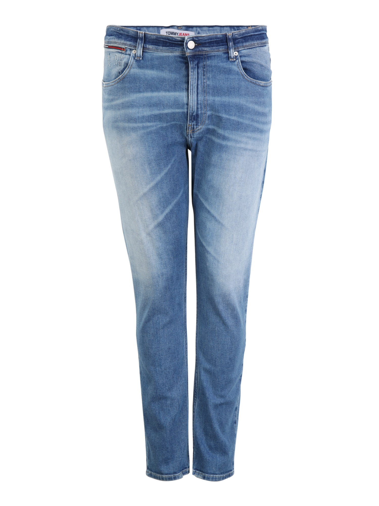 Tommy Jeans Plus Džinsai tamsiai (džinso) mėlyna