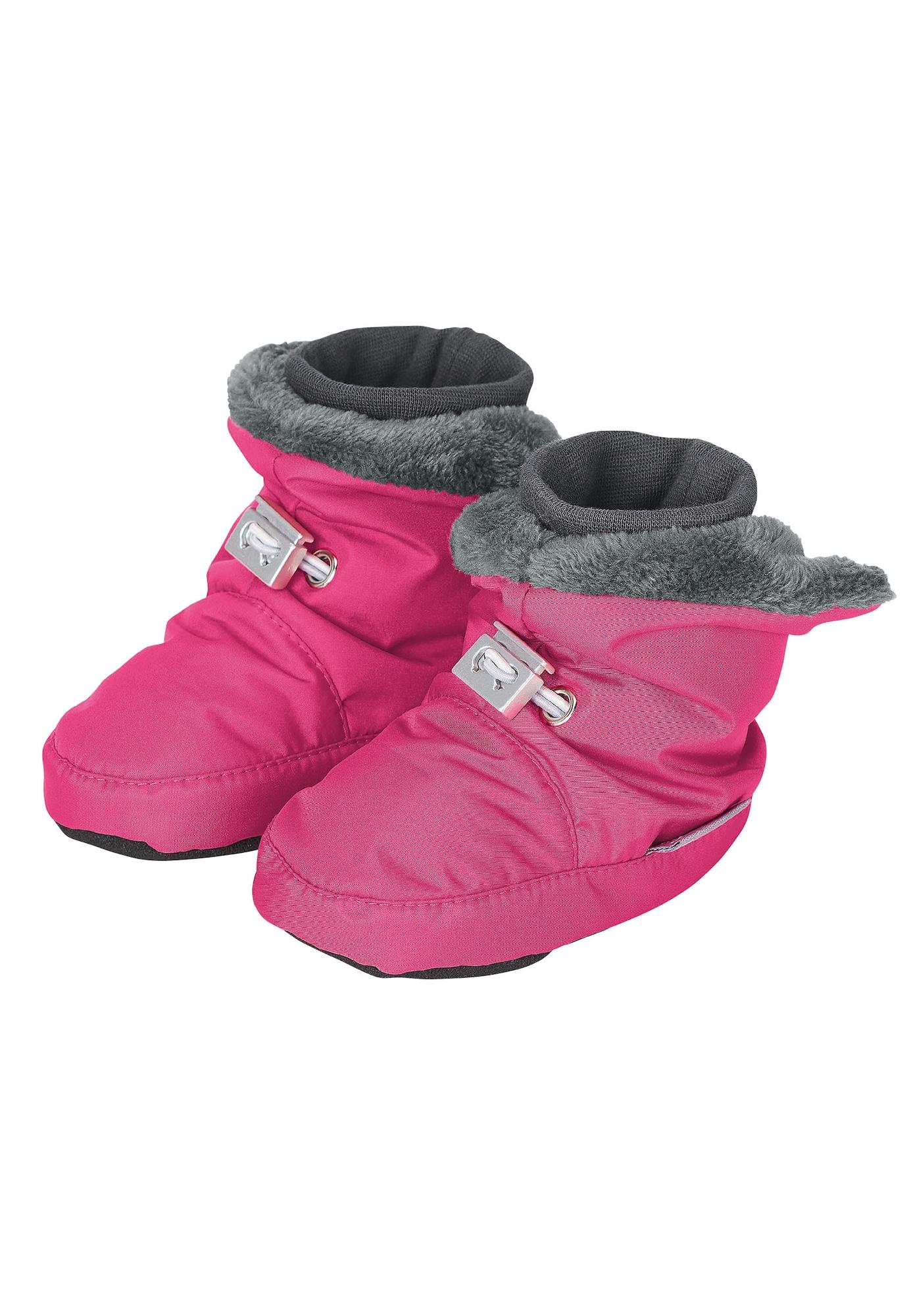 STERNTALER Sniego batai rožinė / tamsiai pilka