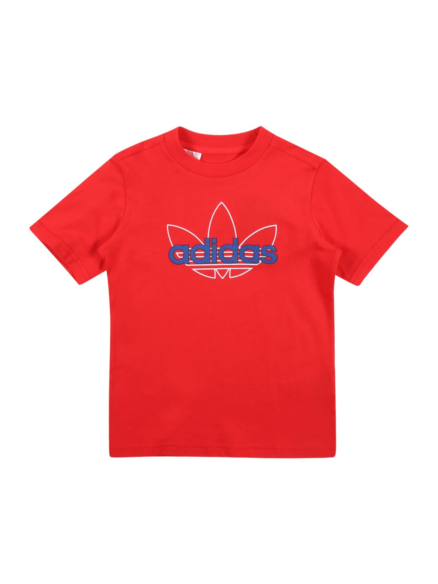 """ADIDAS ORIGINALS Marškinėliai raudona / balta / sodri mėlyna (""""karališka"""")"""