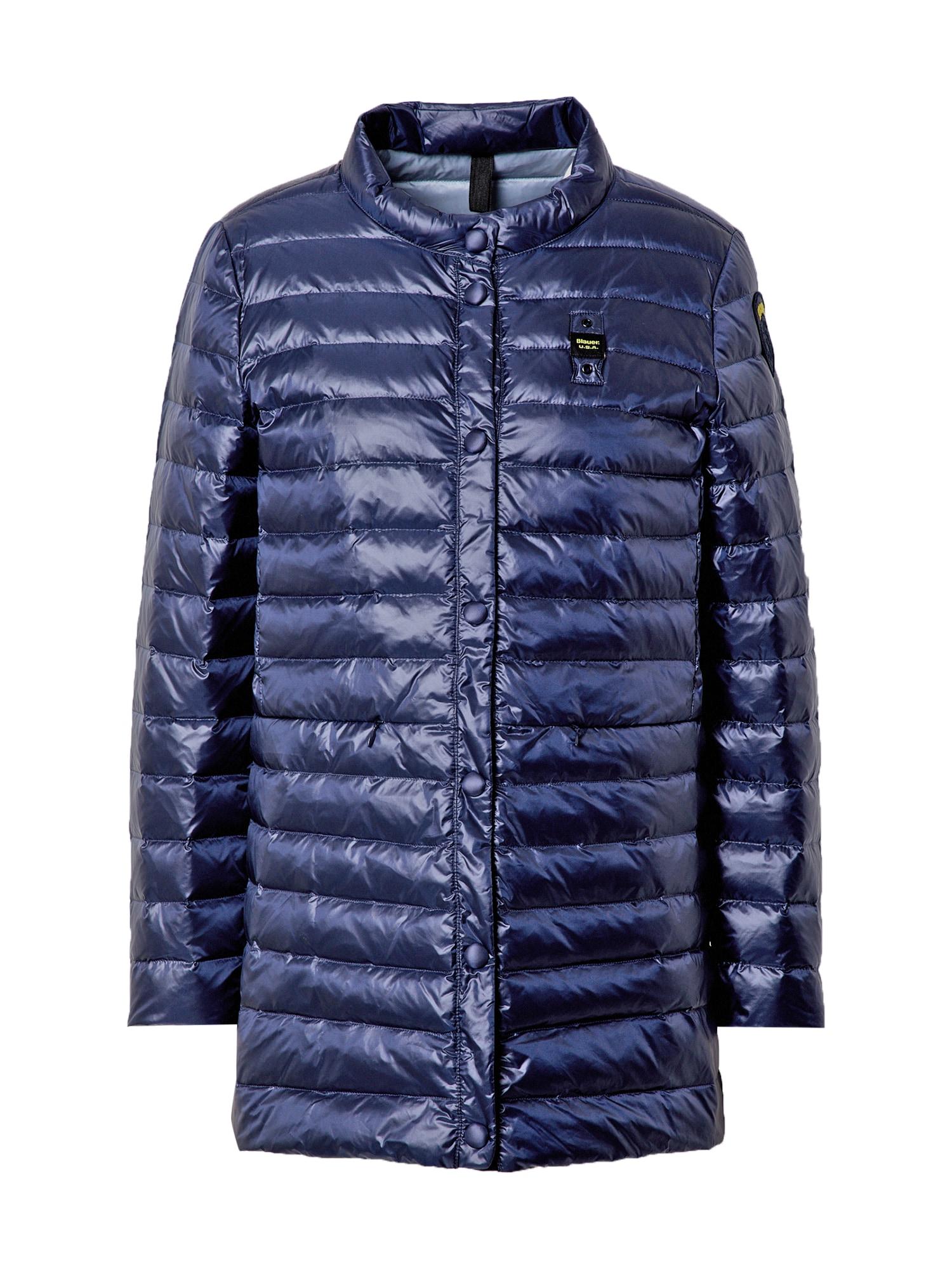 Blauer.USA Demisezoninis paltas tamsiai mėlyna
