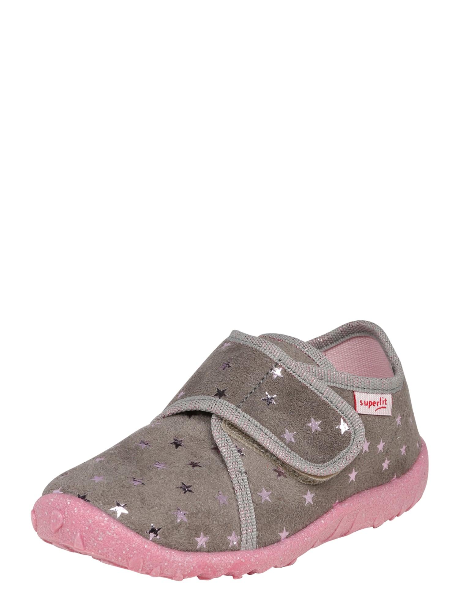 SUPERFIT Pantofle 'Spotty'  šedá