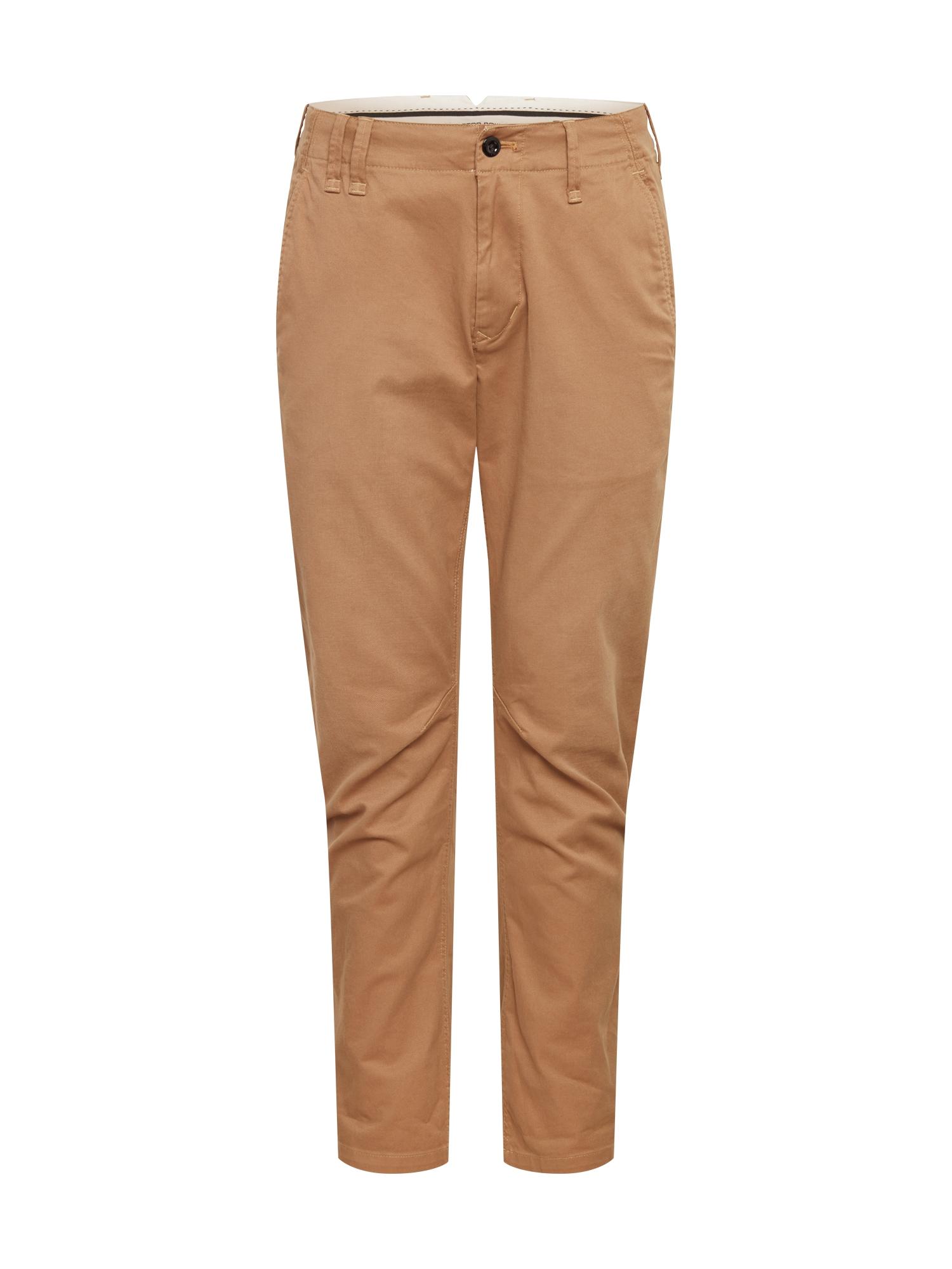G-Star RAW Chino kalhoty 'Vetar'  světle hnědá
