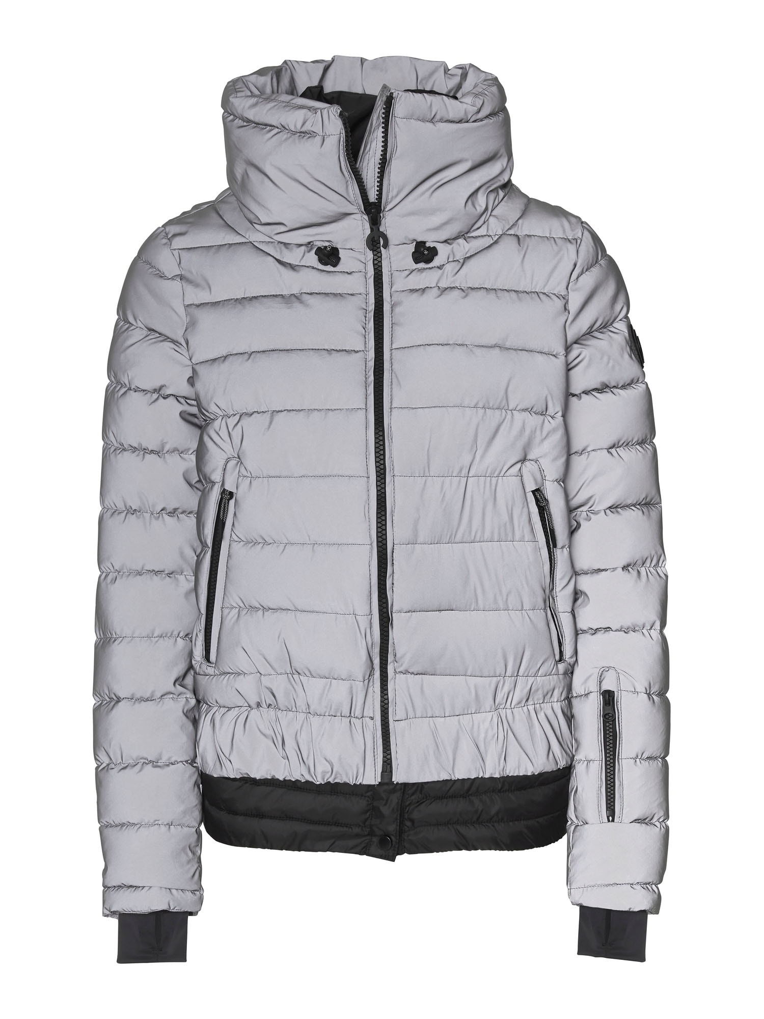 CHIEMSEE Outdoorová bunda 'Siguang'  stříbrná