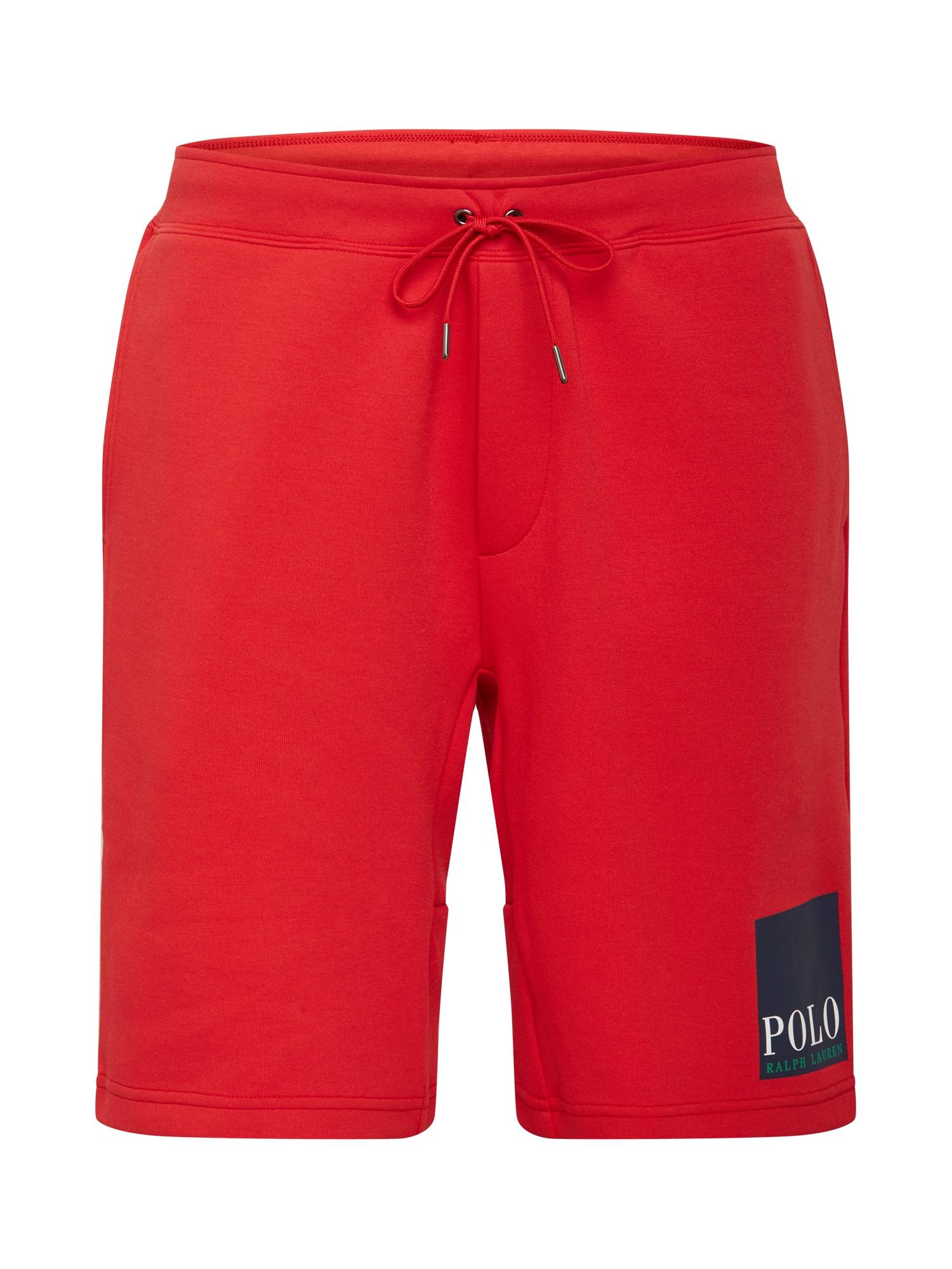 POLO RALPH LAUREN Kalhoty  červená / námořnická modř / bílá / zelená