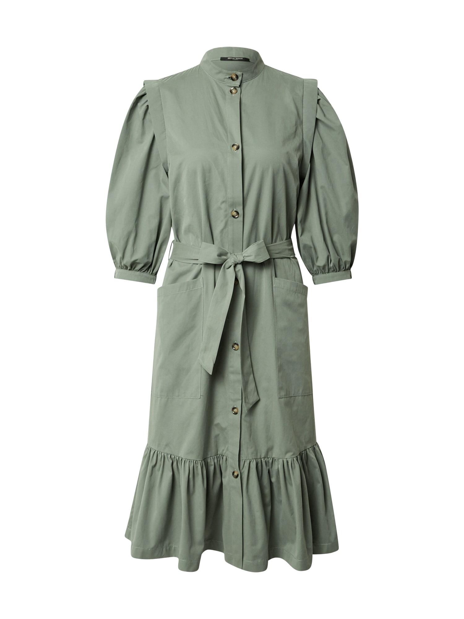 BRUUNS BAZAAR Palaidinės tipo suknelė alyvuogių spalva
