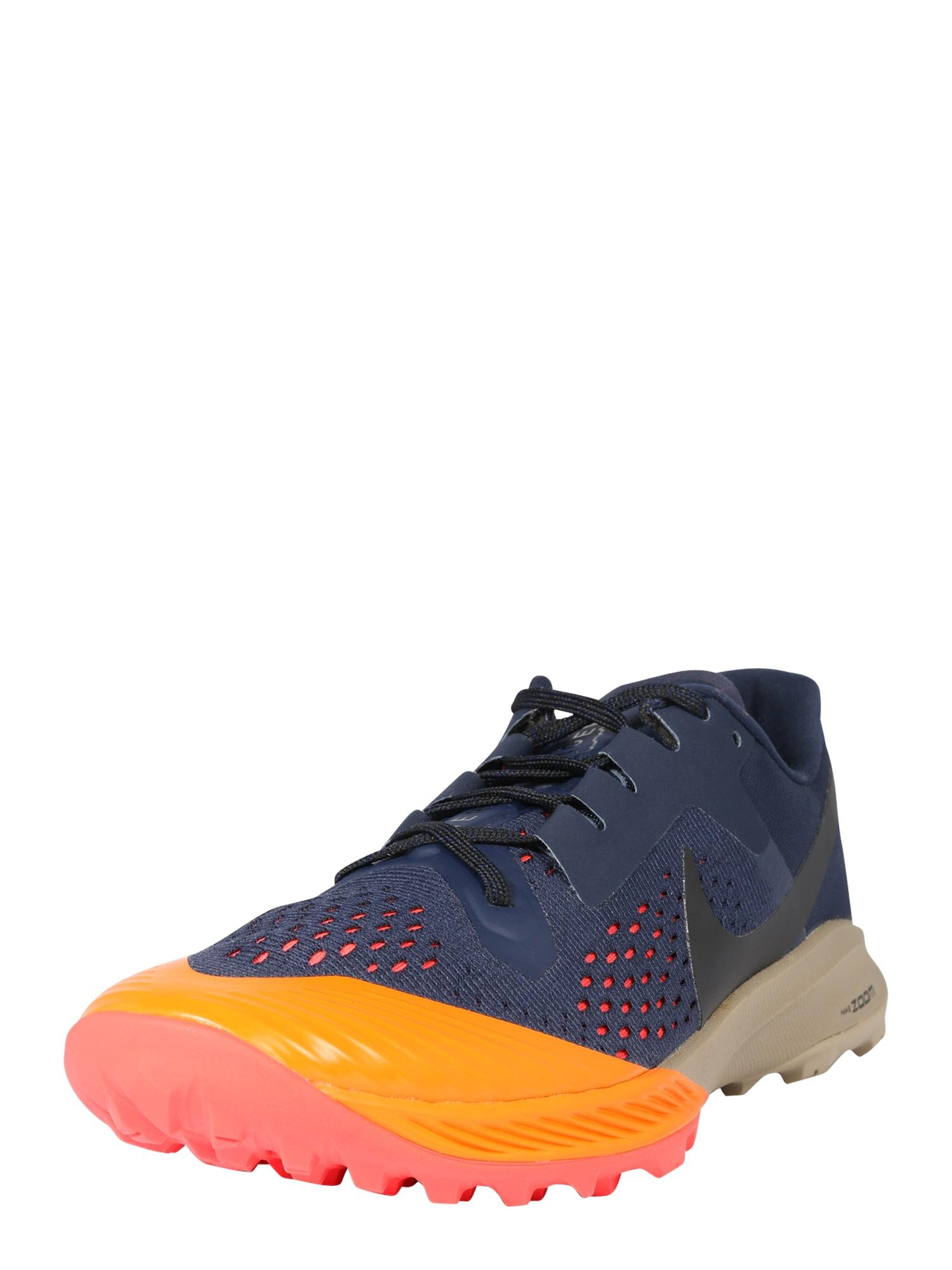 NIKE Sportovní boty 'Zoom Terra Kiger 5'  oranžová / tmavě modrá / pink
