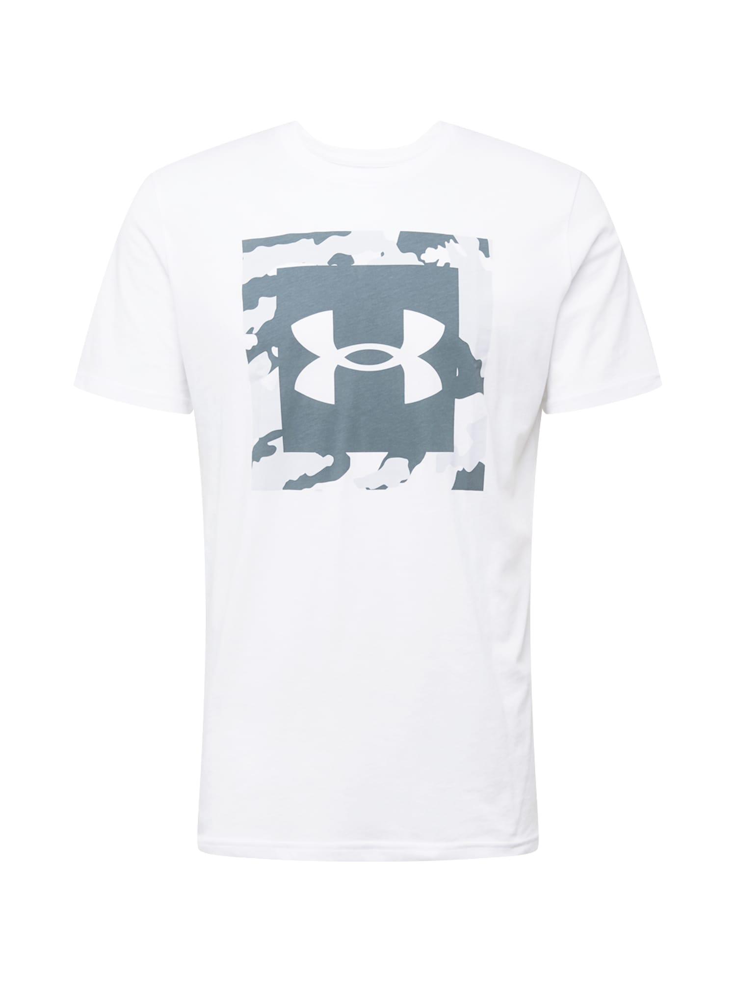 UNDER ARMOUR Funkční tričko  bílá / modrá