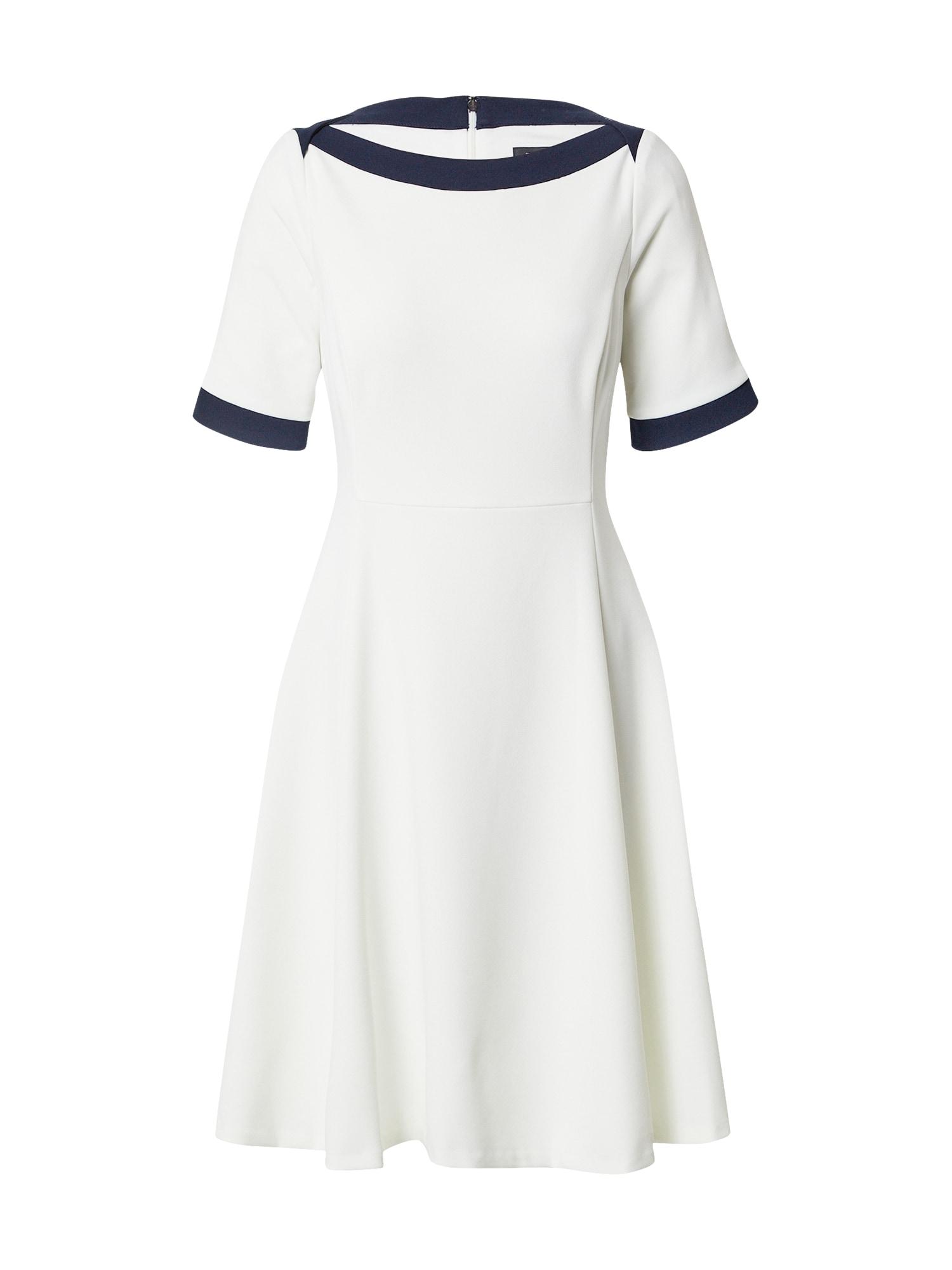 DKNY Suknelė balta / tamsiai mėlyna
