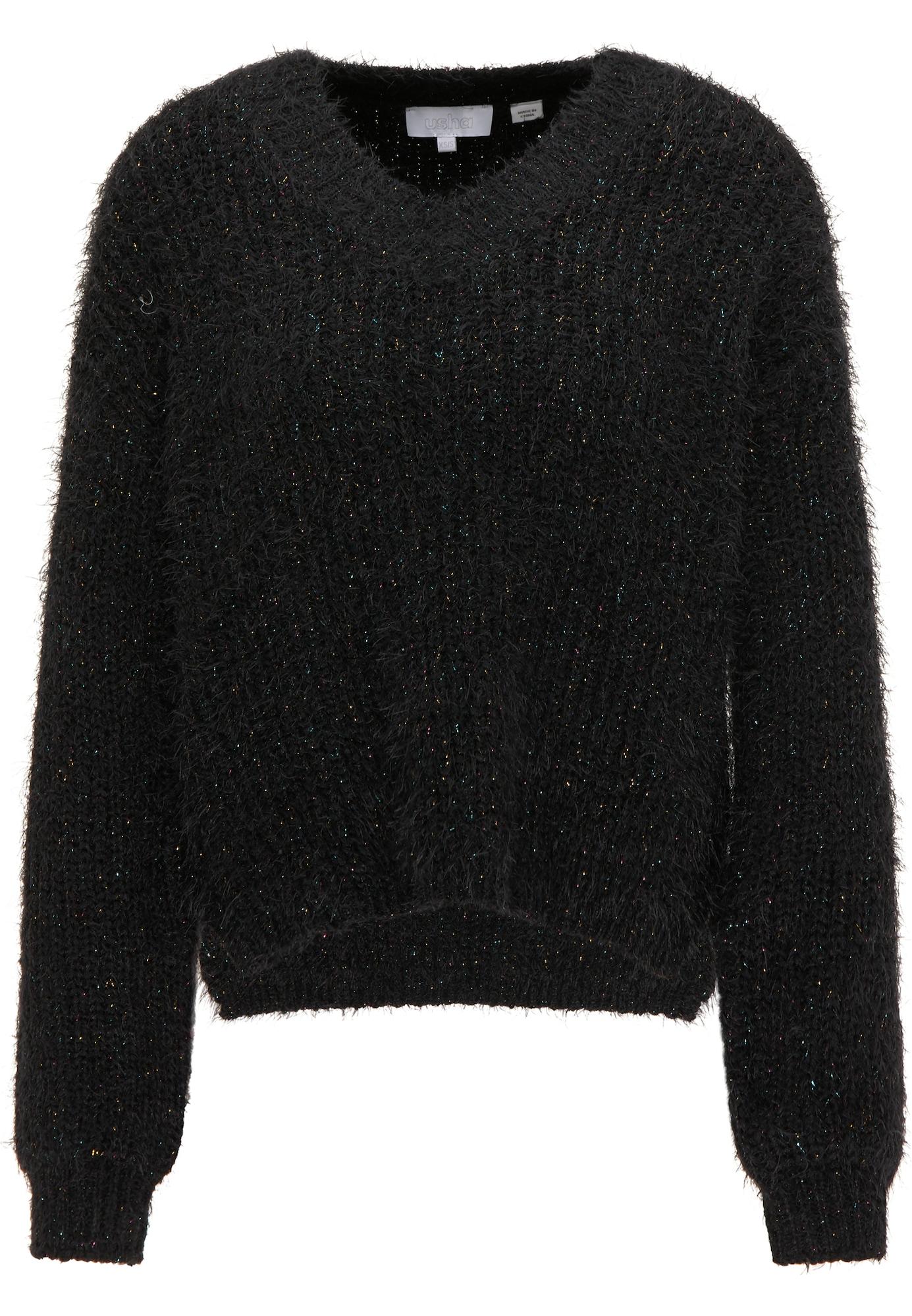 usha WHITE LABEL Megztinis juoda
