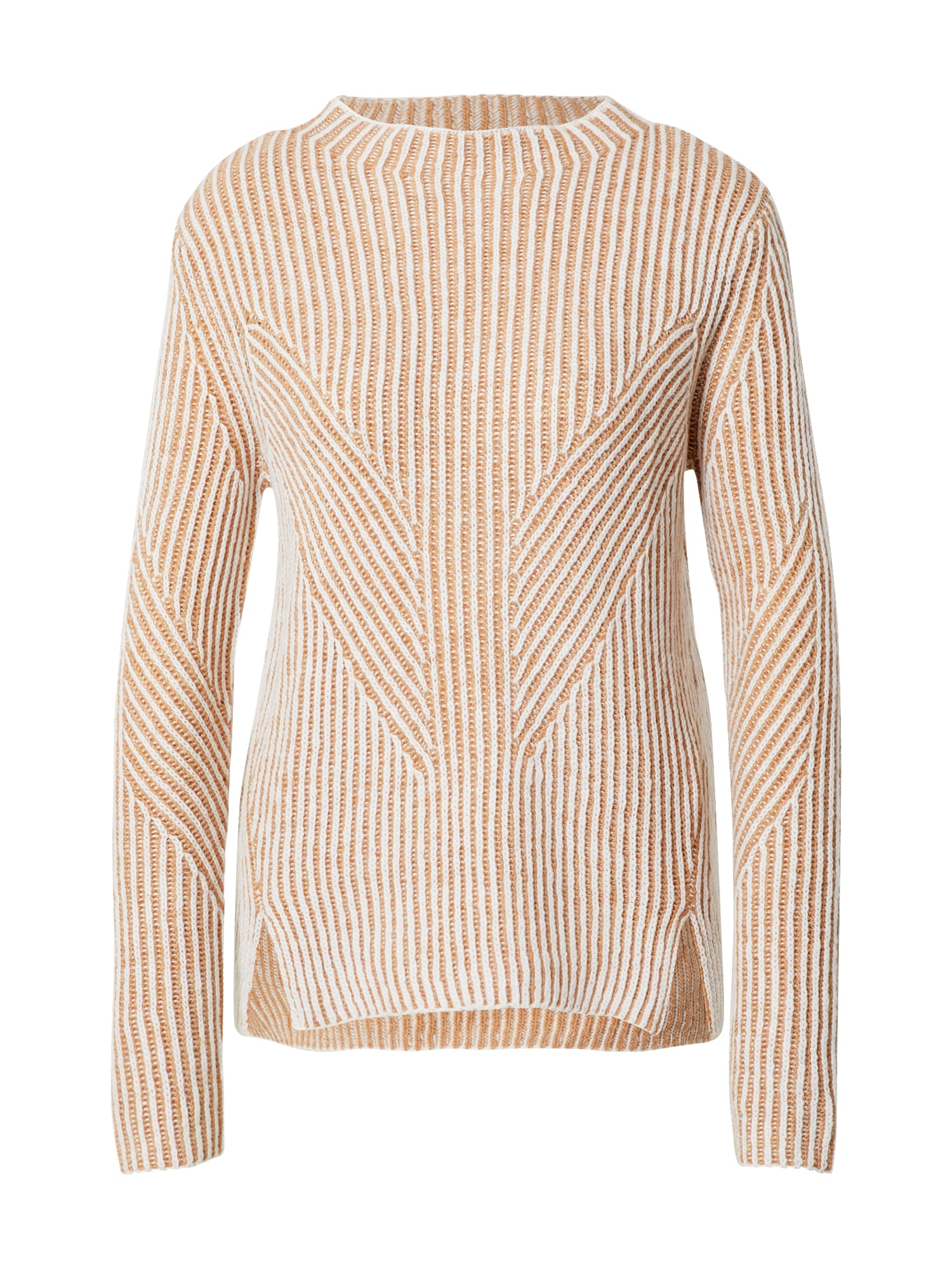 MINE TO FIVE Megztinis smėlio / balta